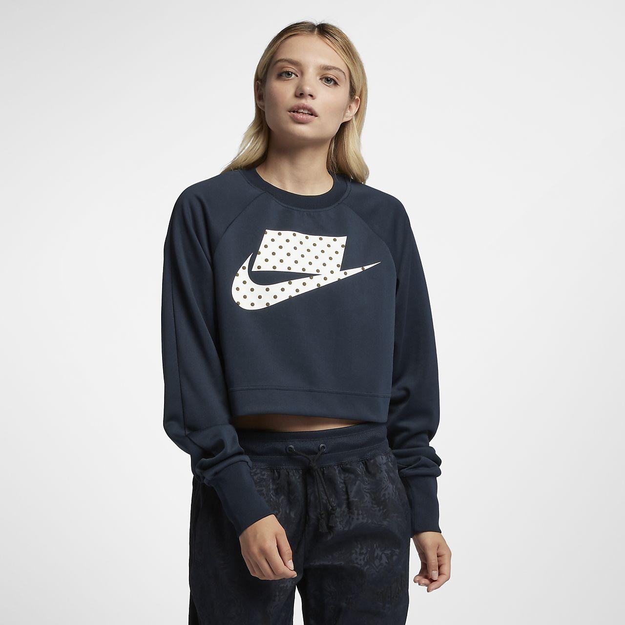 Sudadera recortada para mujer Nike Sportswear