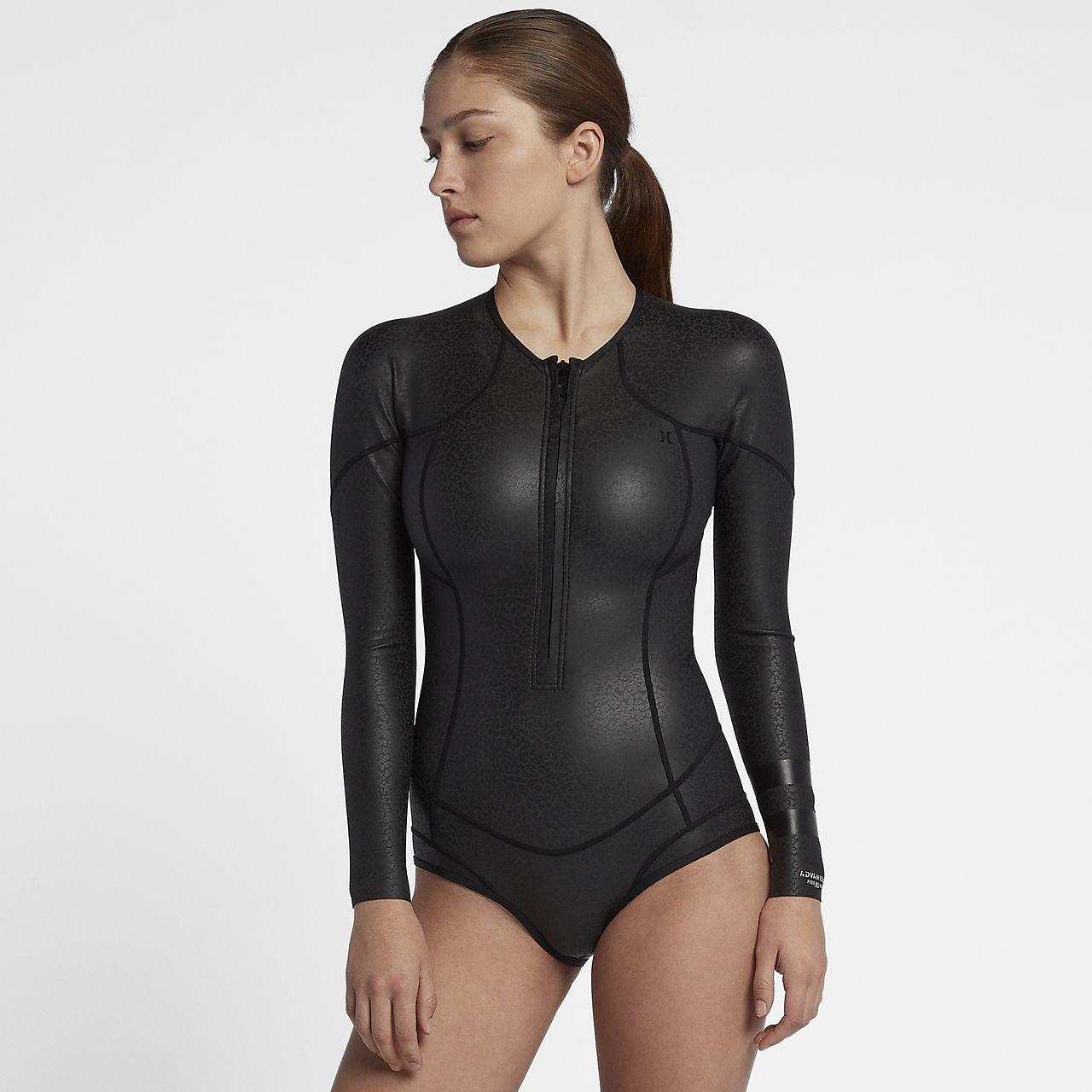 Hurley Advantage Plus 0,5 mm Windskin Springsuit Damen-Neoprenanzug