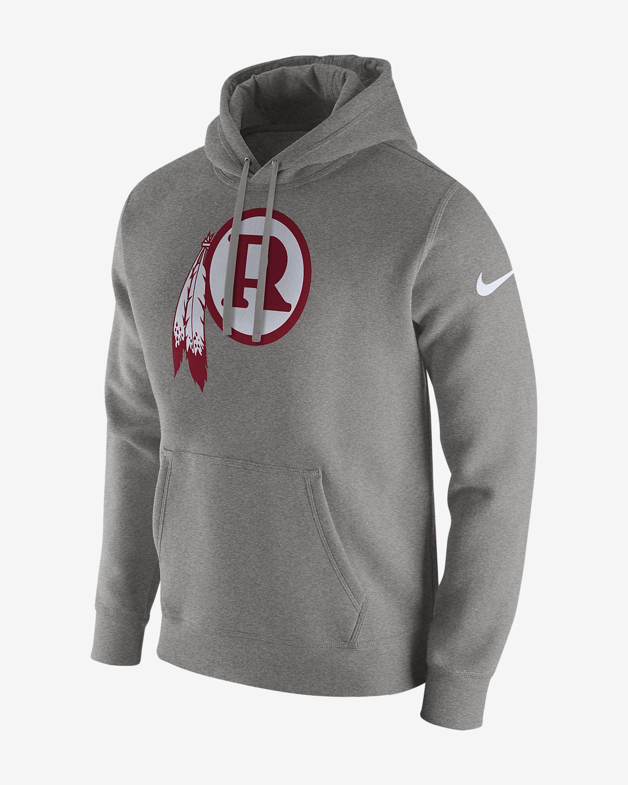 1baafa897 Nike Club (NFL Redskins) Men's Fleece Pullover Hoodie. Nike.com
