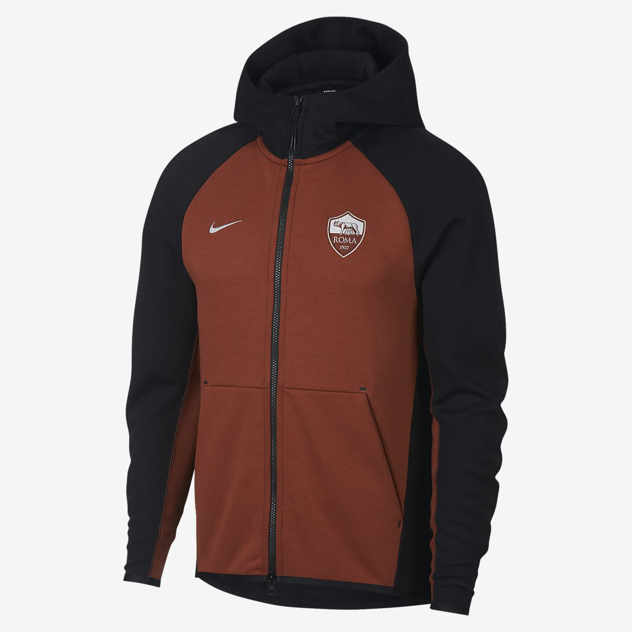 22775ed75ebb A.S. Roma Tech Fleece Men s Full-Zip Hoodie. Nike.com NO
