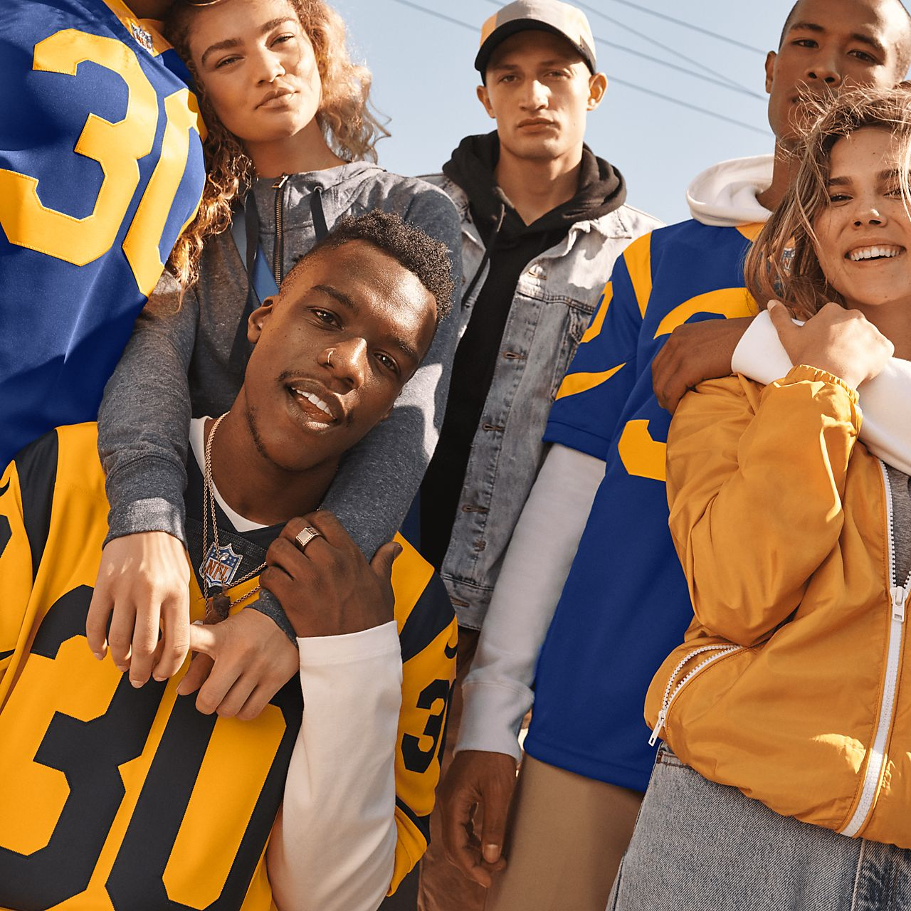 buy online bb1b1 724ff NFL Los Angeles Rams Limited (Todd Gurley) Men's Football Jersey