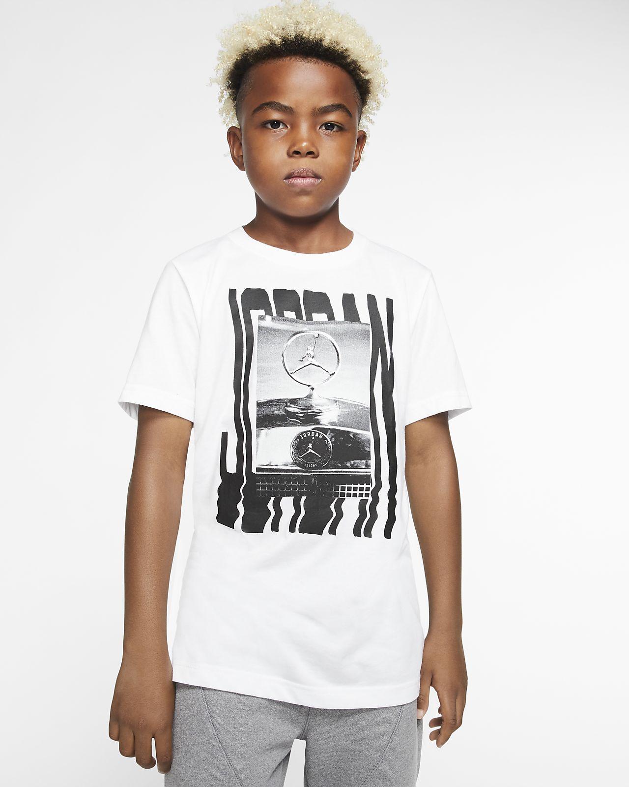 Κοντομάνικο T-Shirt Jordan Jumpman για μεγάλα αγόρια