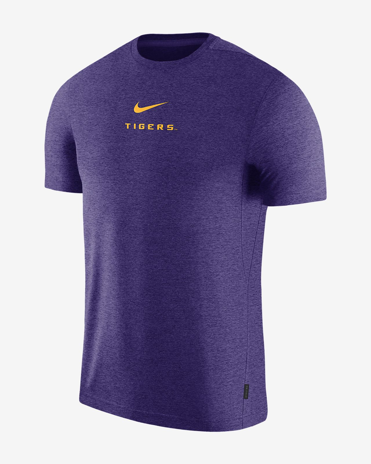 b7242aab1c Nike College Dri-FIT Coach (LSU) Men's Short-Sleeve Top. Nike.com