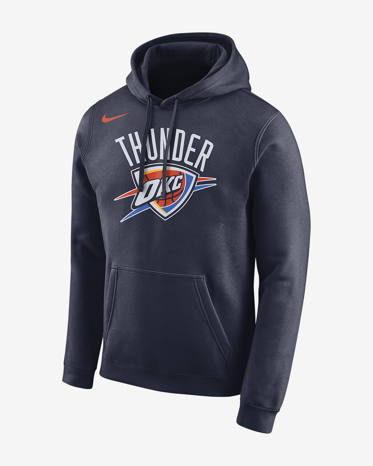 Oklahoma City Thunder Nike Men's Logo NBA Hoodie