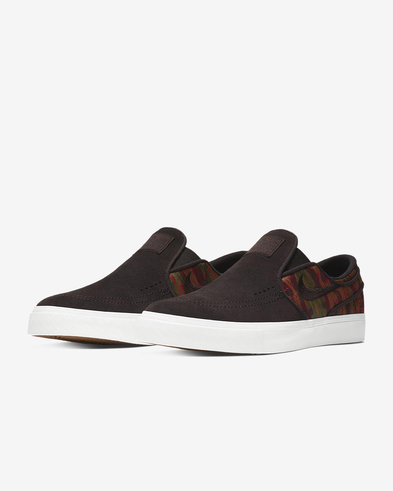 super cute a1cfc 086f1 ... Nike SB Zoom Stefan Janoski Slip-On Premium Men s Skateboarding Shoe