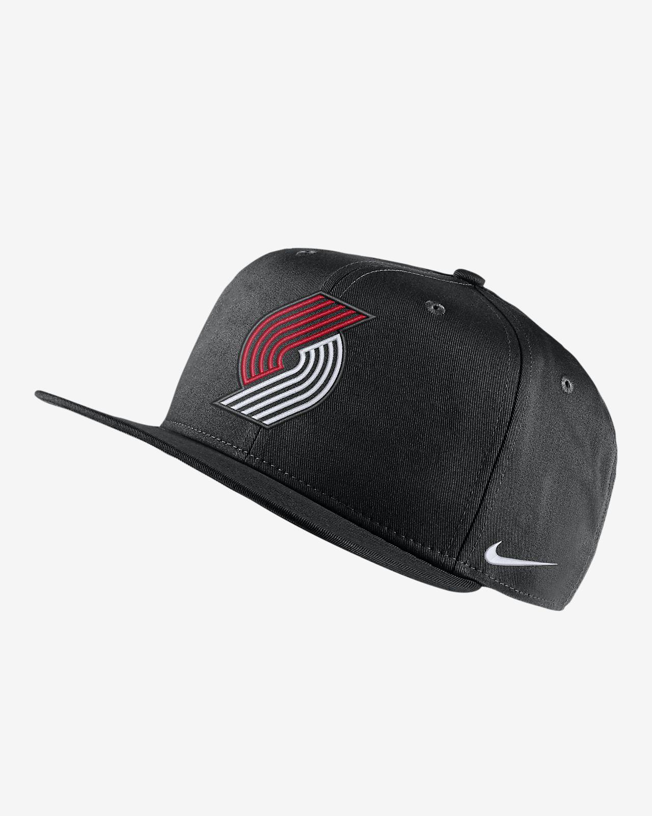Gorra de la NBA Portland Trail Blazers Nike Pro