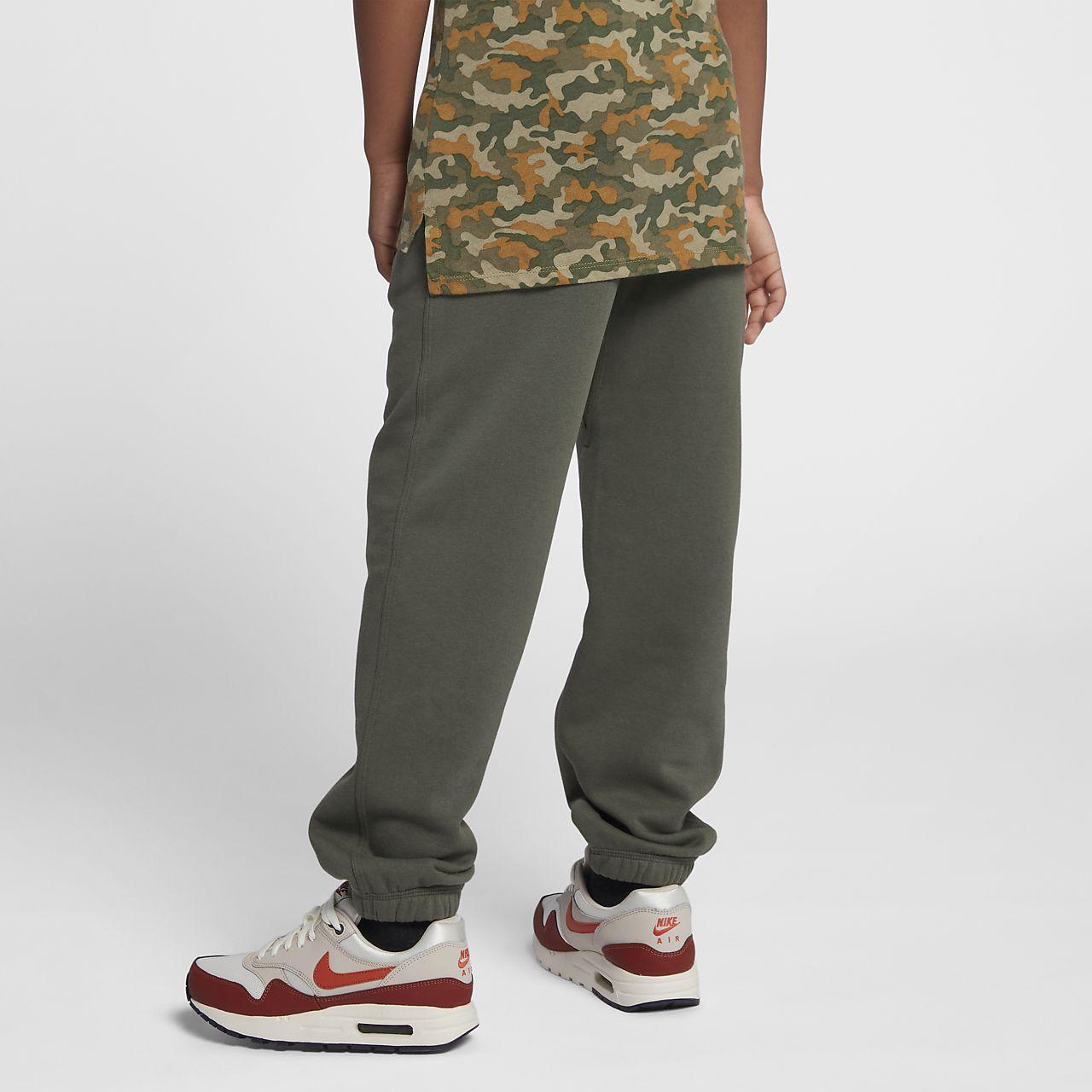 Joggingbroek Voor Jongens.Nike Brushed Fleece Cuffed Joggingbroek Jongens Nike Com Be