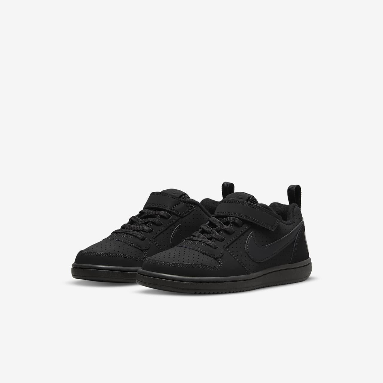 ... NikeCourt Borough Low Younger Kids' Shoe
