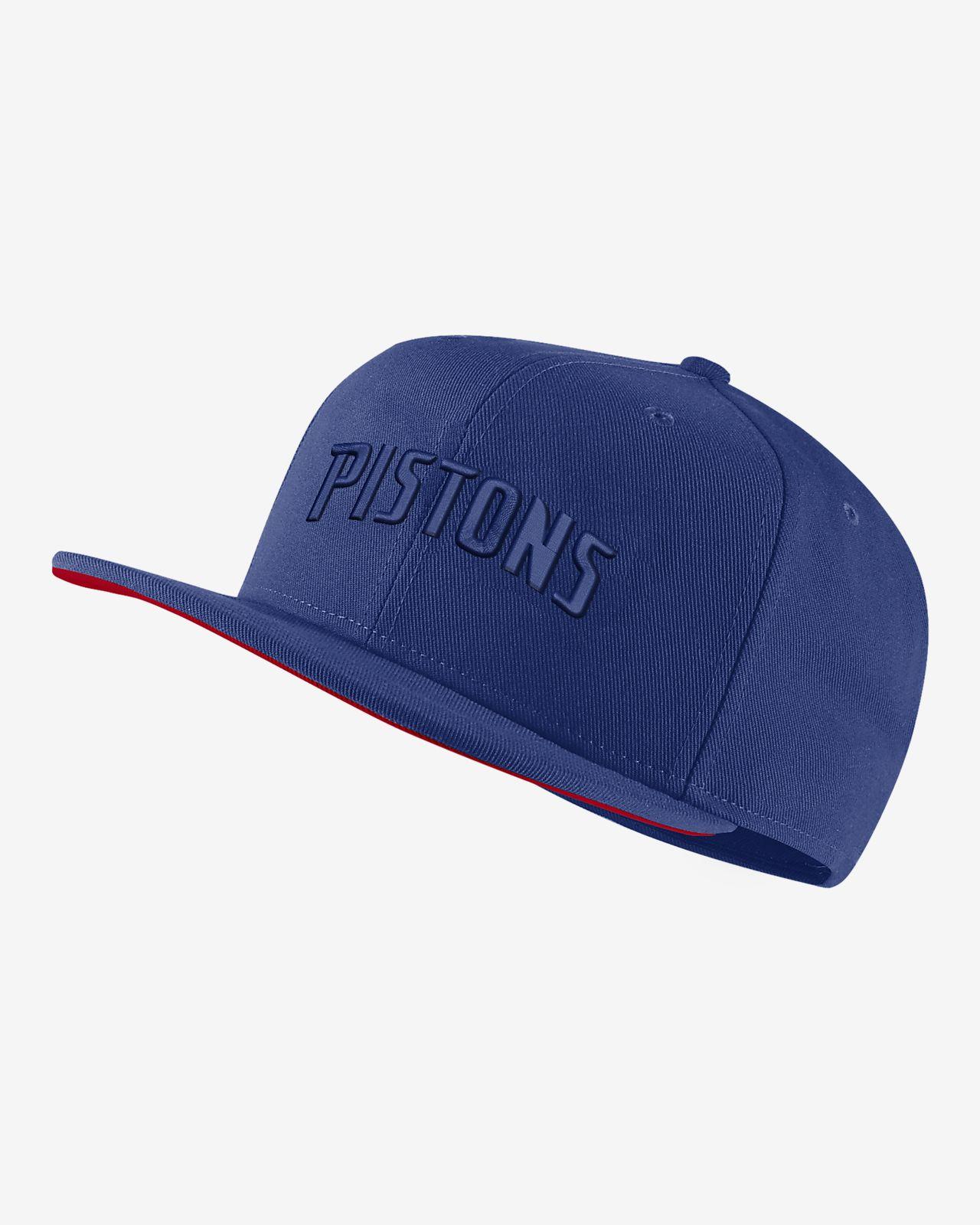 Gorro de la NBA Detroit Pistons Nike AeroBill
