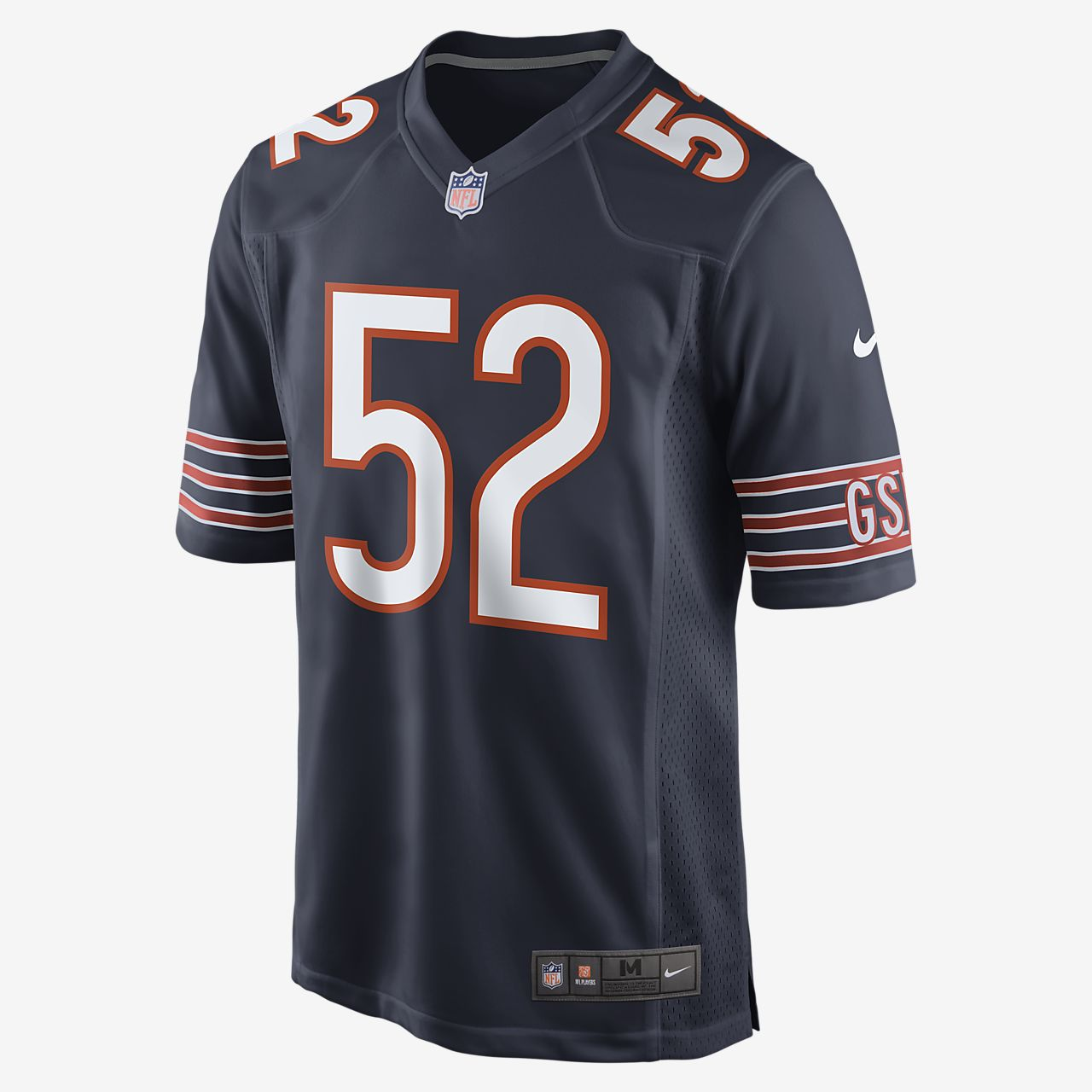 NFL Chicago Bears Men's Game American Football Jersey