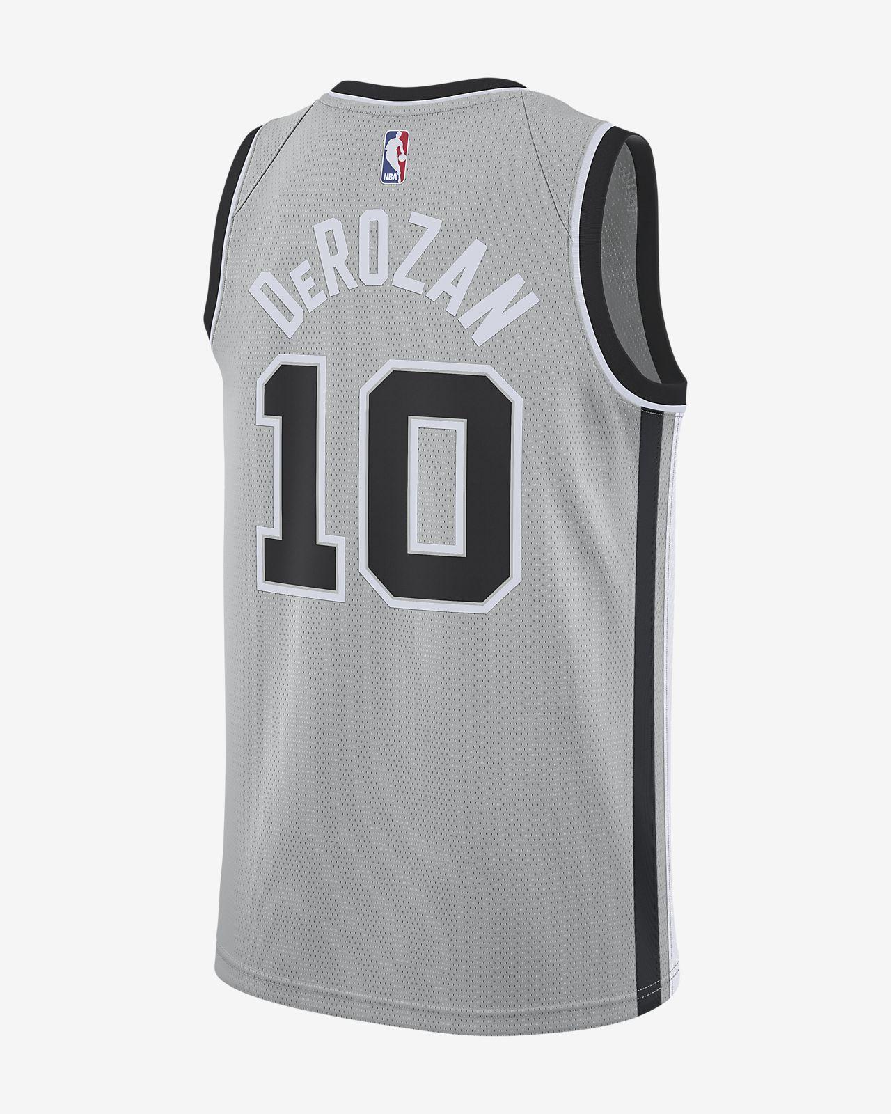 7f6a4c48413 ... DeMar DeRozan Statement Edition Swingman (San Antonio Spurs) Men's Nike  NBA Connected Jersey