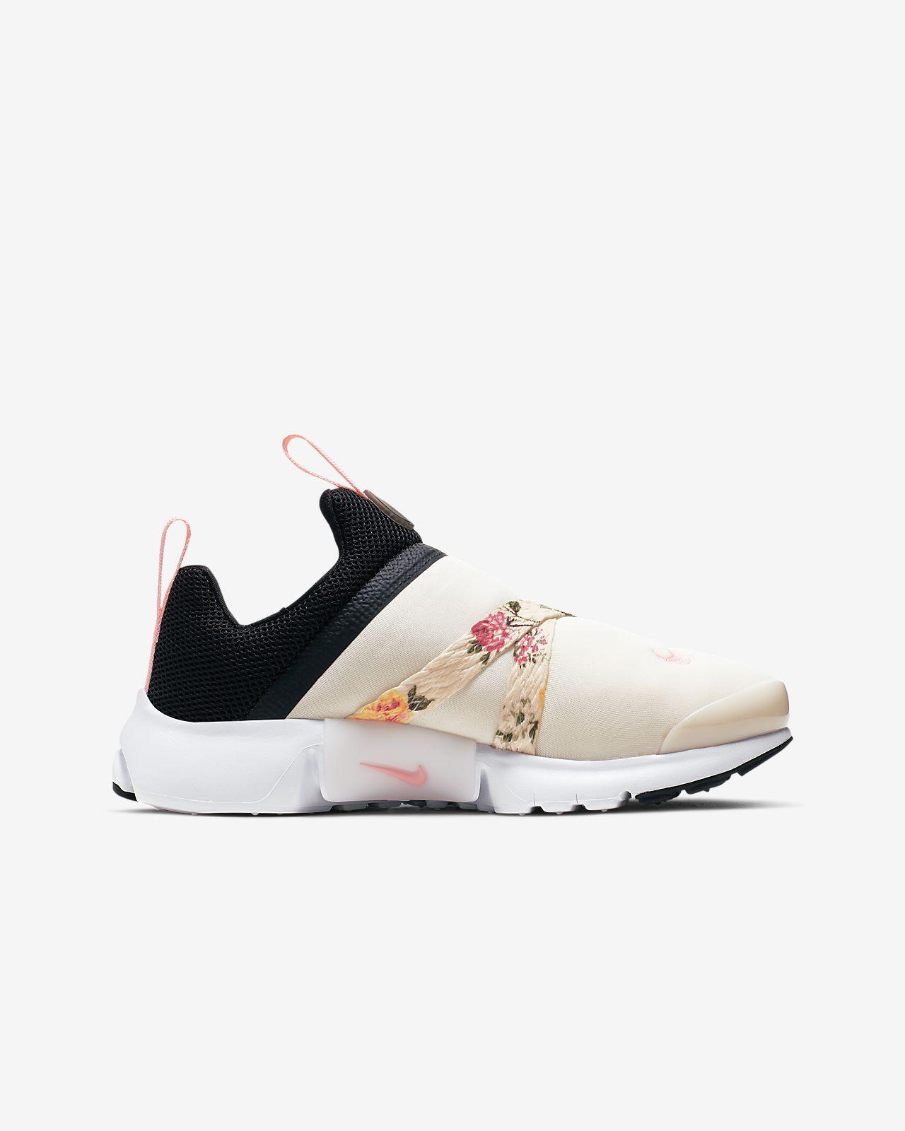 quality design 498da 46cb7 Nike Presto Extreme Vintage Floral Big Kids' Shoe
