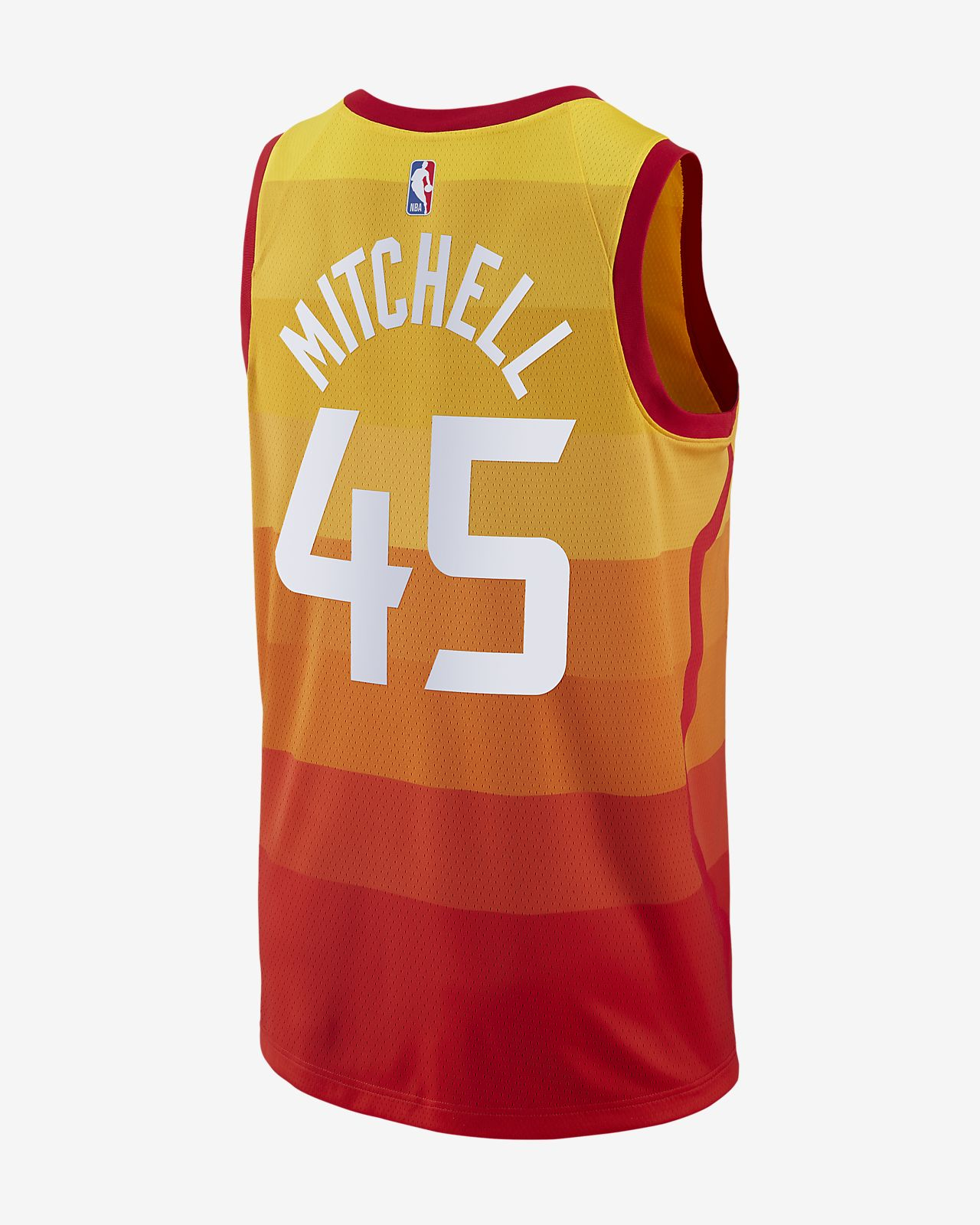 reputable site 99529 253e4 Donovan Mitchell City Edition Swingman (Utah Jazz) Men's Nike NBA Connected  Jersey