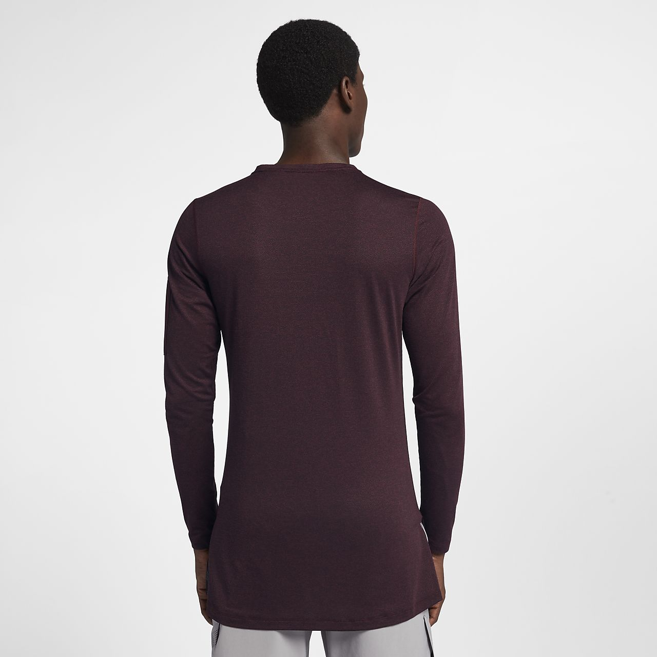 ... Nike Training Utility Men's Long Sleeve Top
