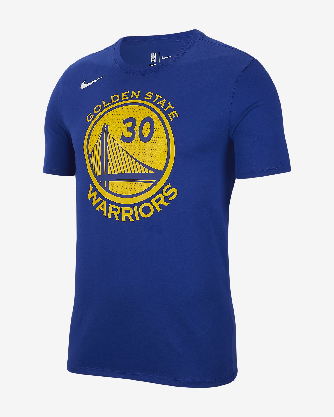 Stephen Curry Golden State Warriors Nike Dri-FIT NBA-s férfipóló
