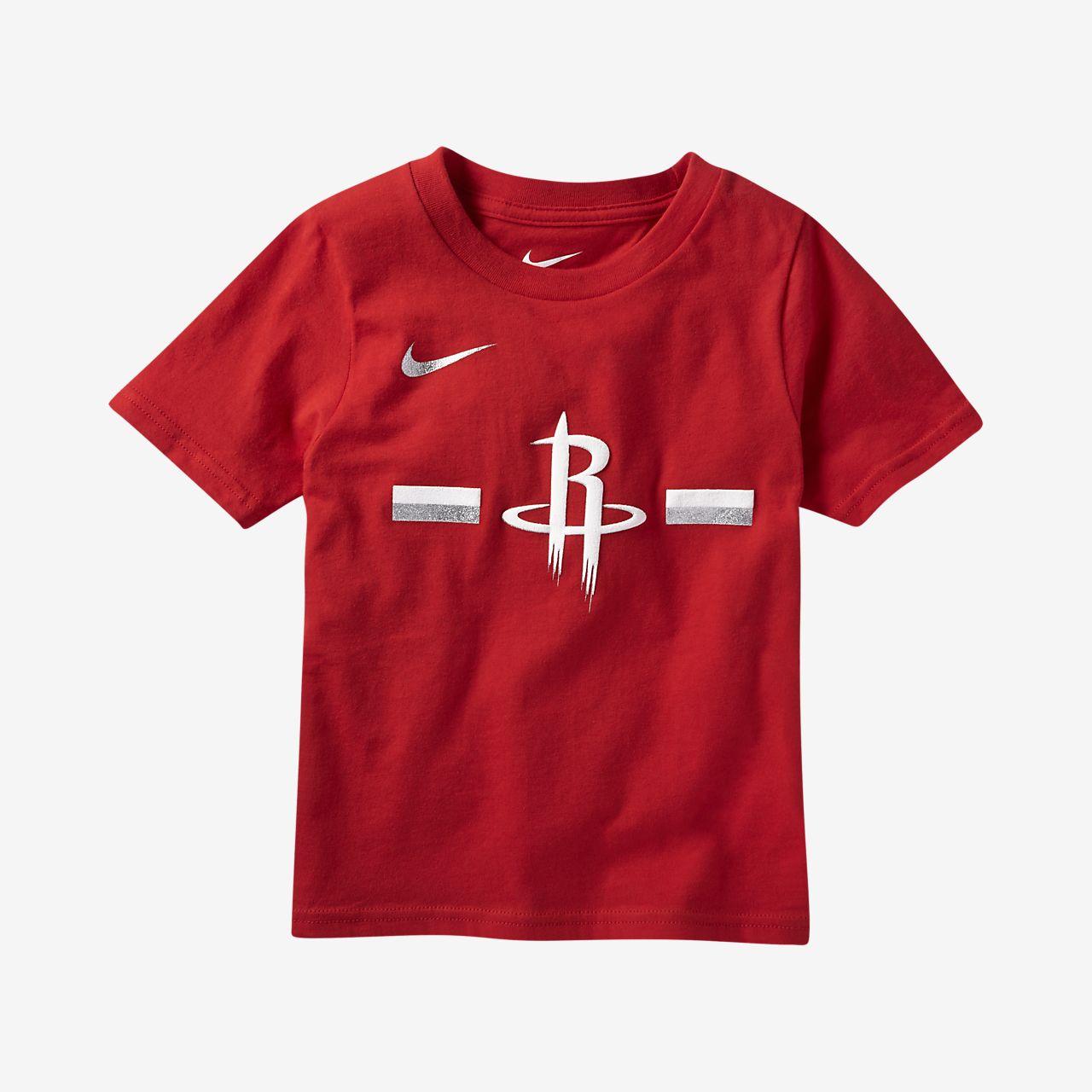 Houston Rockets Warm Up Shirt: Houston Rockets Nike Logo Toddler NBA T-Shirt. Nike.com
