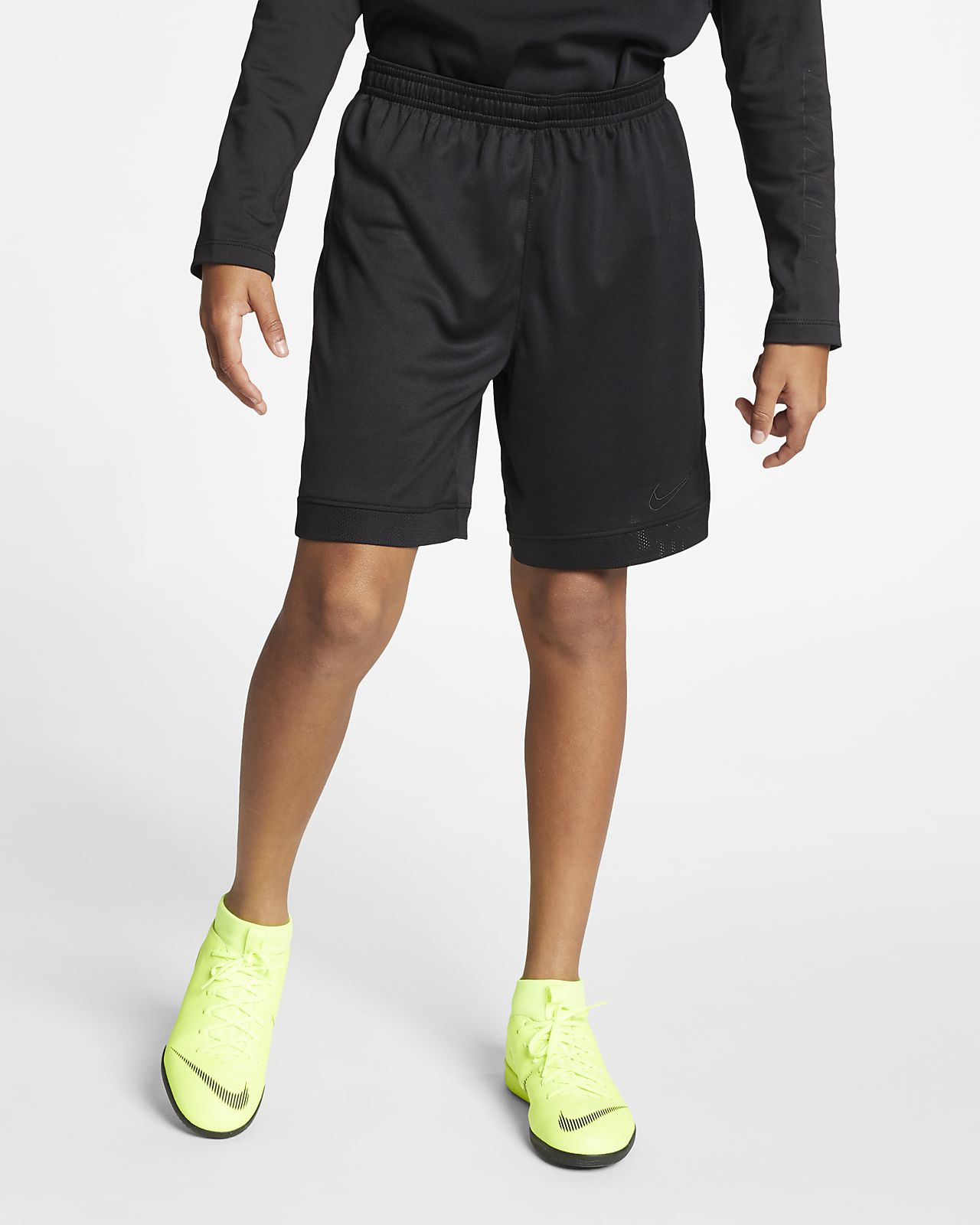 Nike Dri-FIT Academy Big Kids' Soccer Shorts. Nike.com