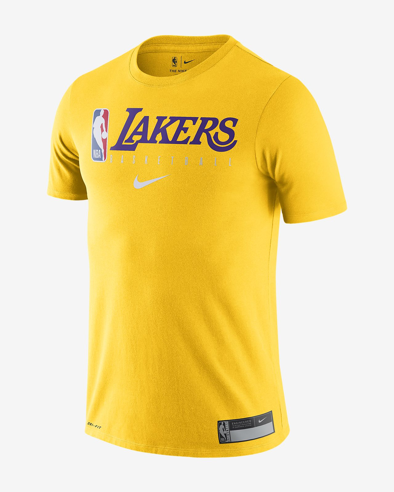 Playera de la NBA para hombre Los Angeles Lakers Nike