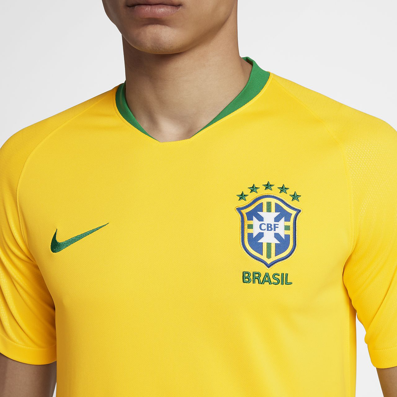 Maillot Nike Brasil CBF Stadium Home Homme