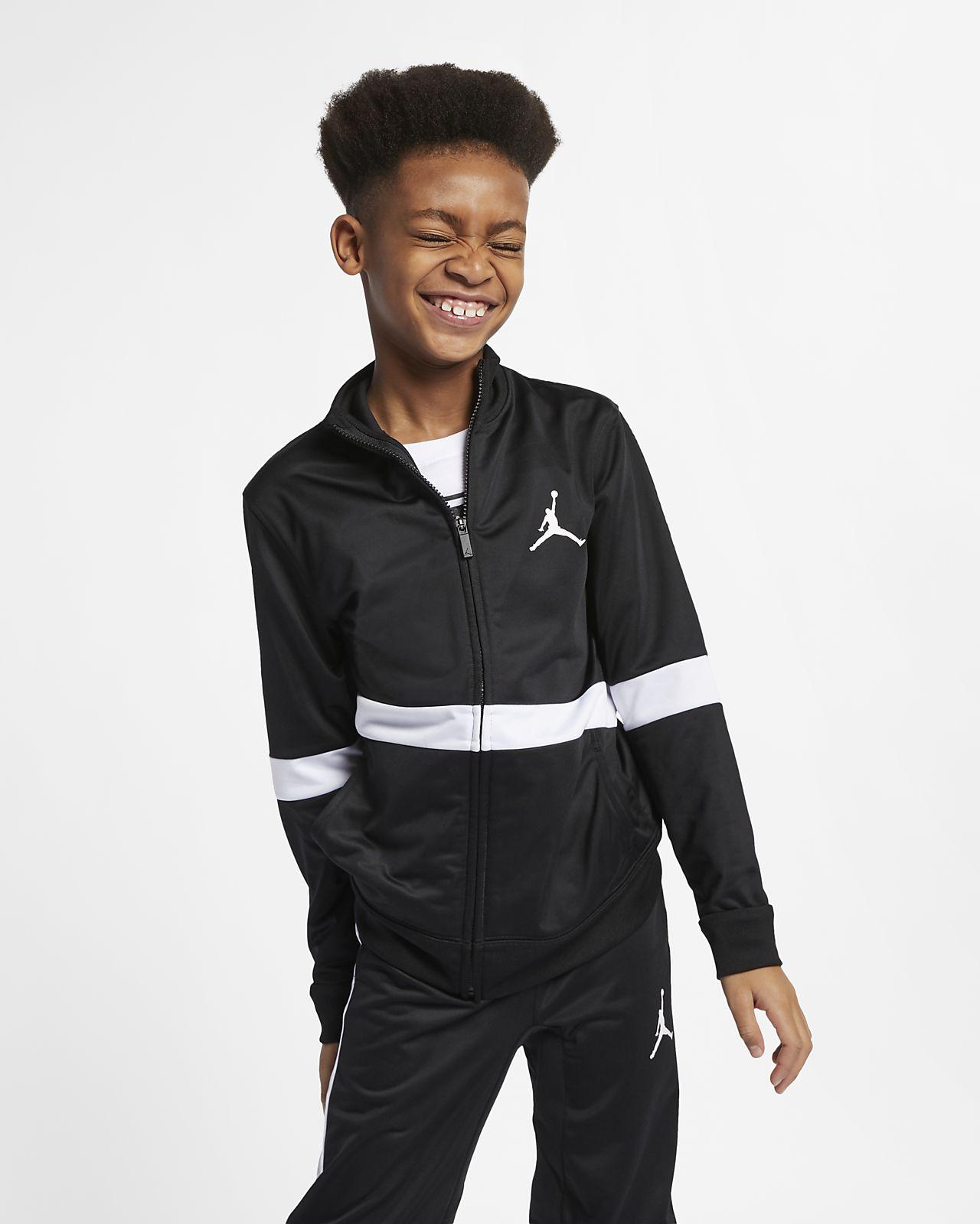 Τζάκετ με φερμουάρ Jordan Sportswear Diamond για μεγάλα αγόρια