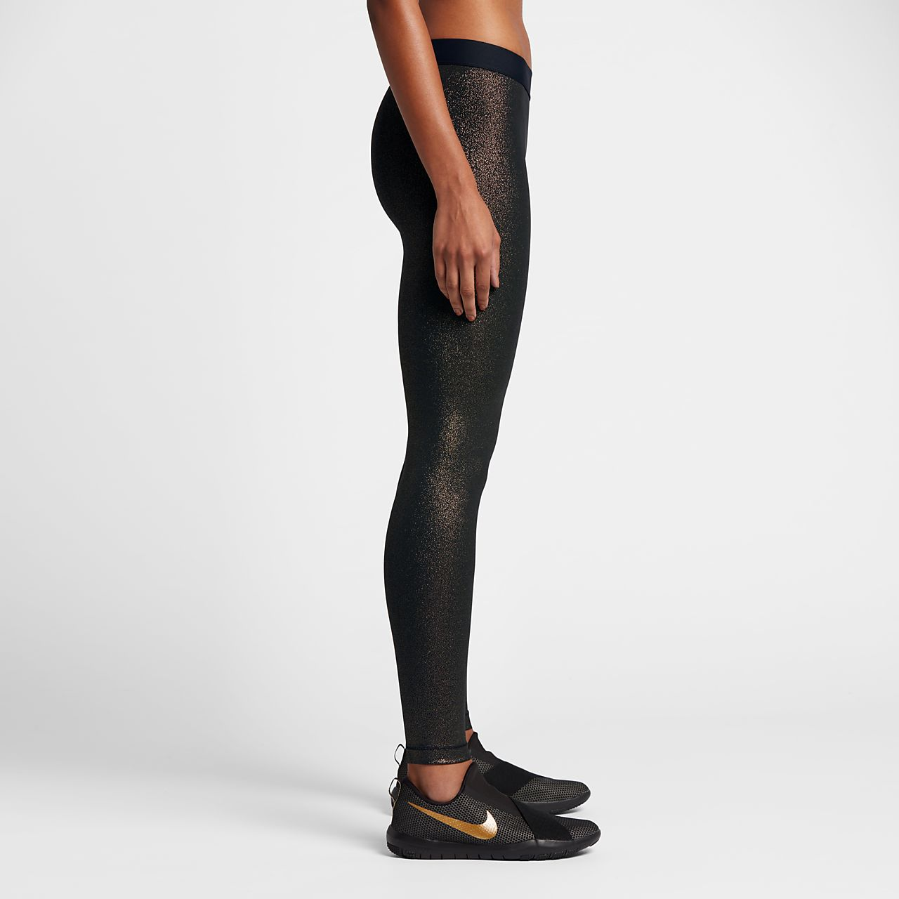 nike pro sparkle women 39 s training tights ca. Black Bedroom Furniture Sets. Home Design Ideas
