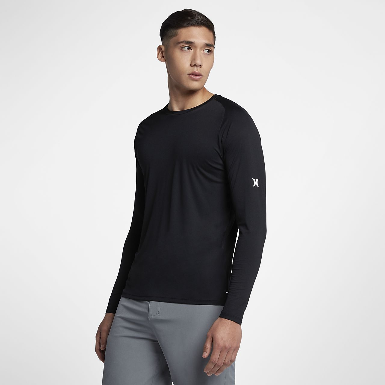 Hurley Icon Quick Dry Men's Long Sleeve Surf Shirt