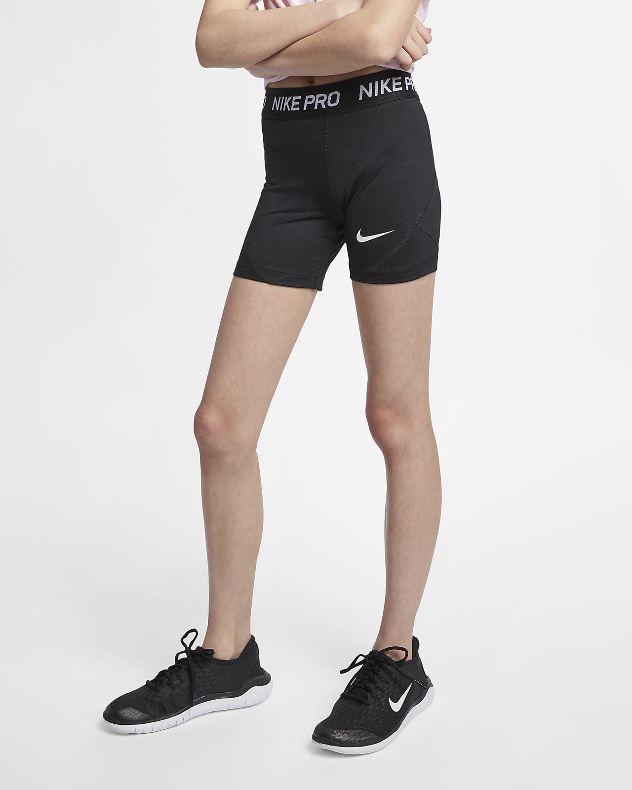 Pantaloncini Nike Pro Ragazza