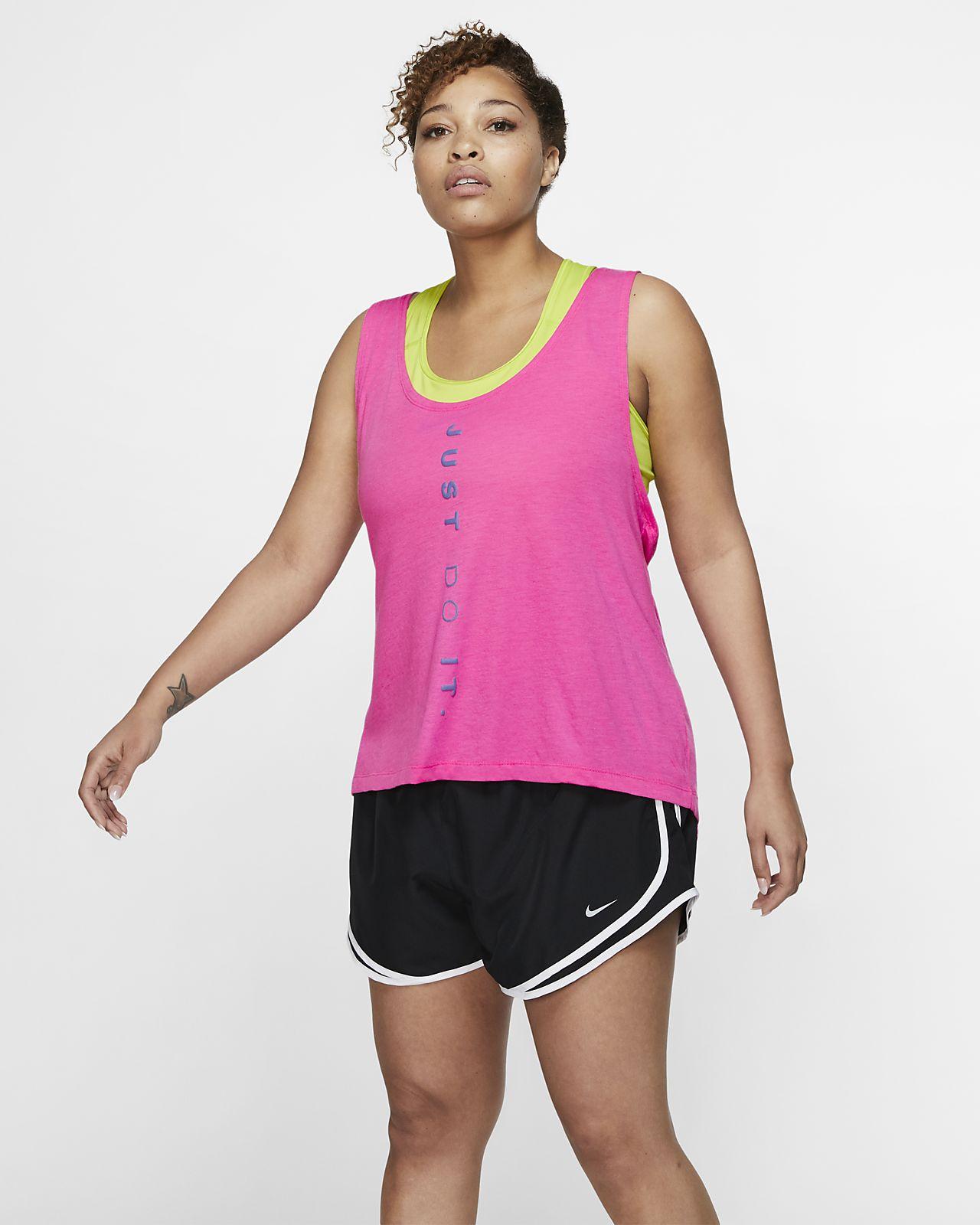 Nike Dri-FIT Miler Women's Running Tank (Plus Size)