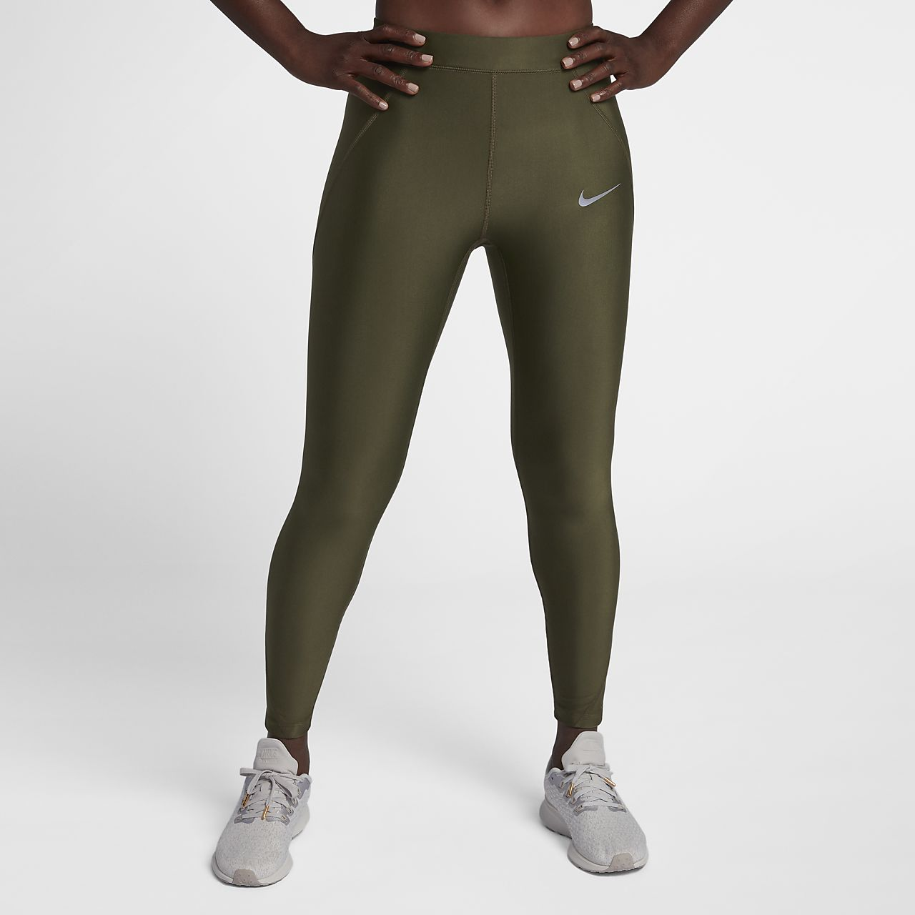 Nike Speed Women's Mid-Rise 7/8 Running Tights