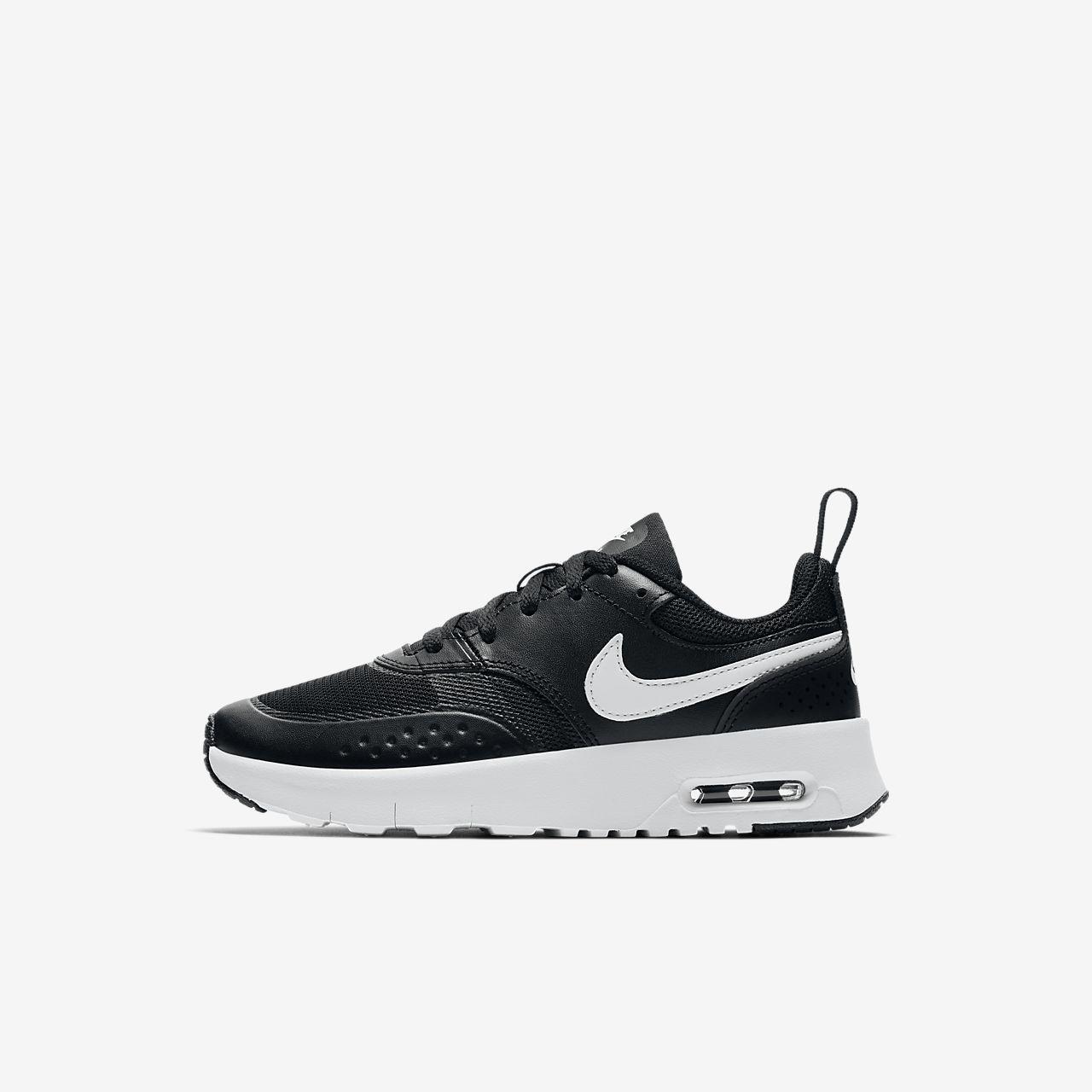 Nike Air Max Chaussures Vision Baskets Lo Noir Blanc Noir Blanc ucVIQ