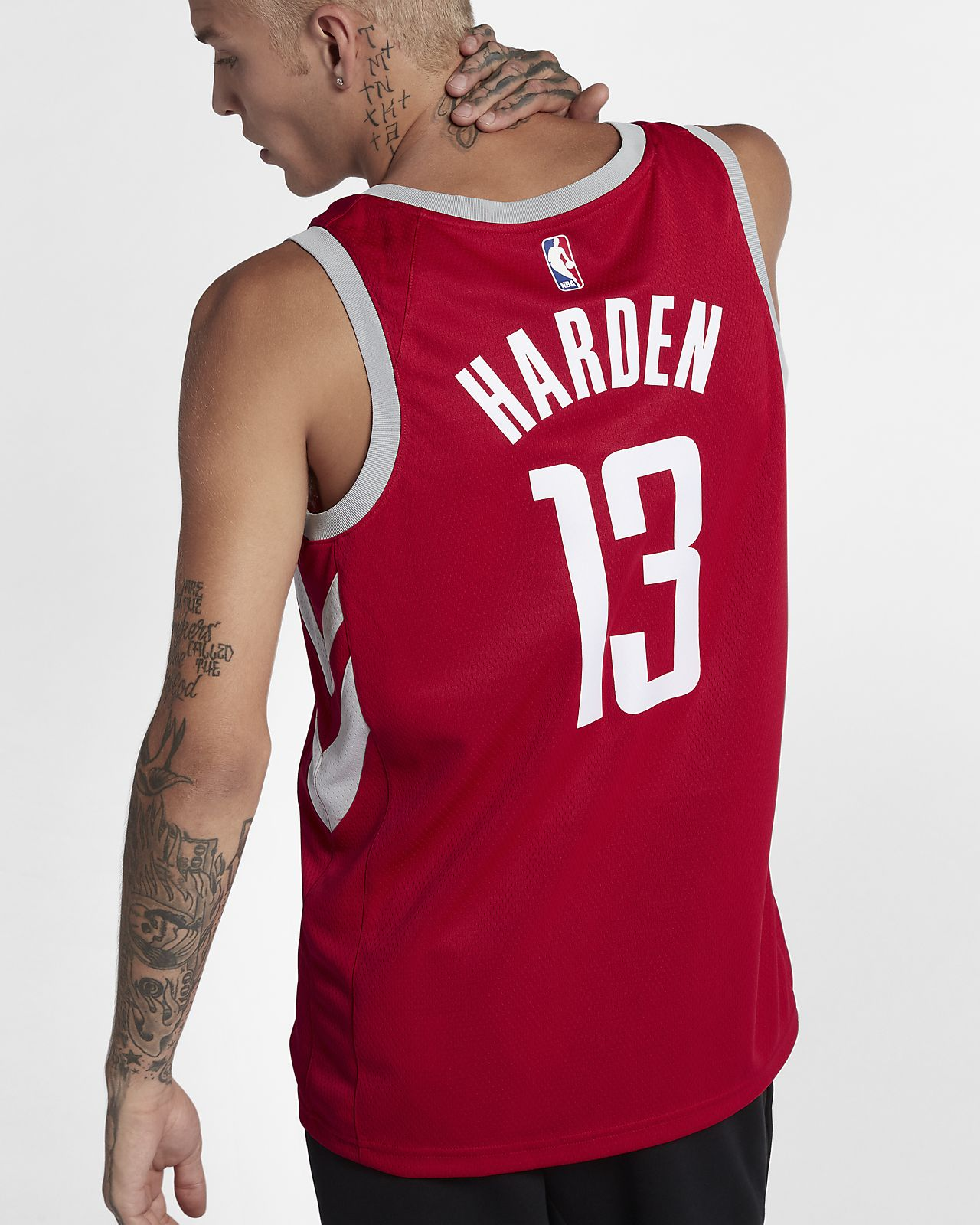 ... James Harden Icon Edition Swingman (Houston Rockets) Men s Nike NBA  Connected Jersey 57a13e1f9