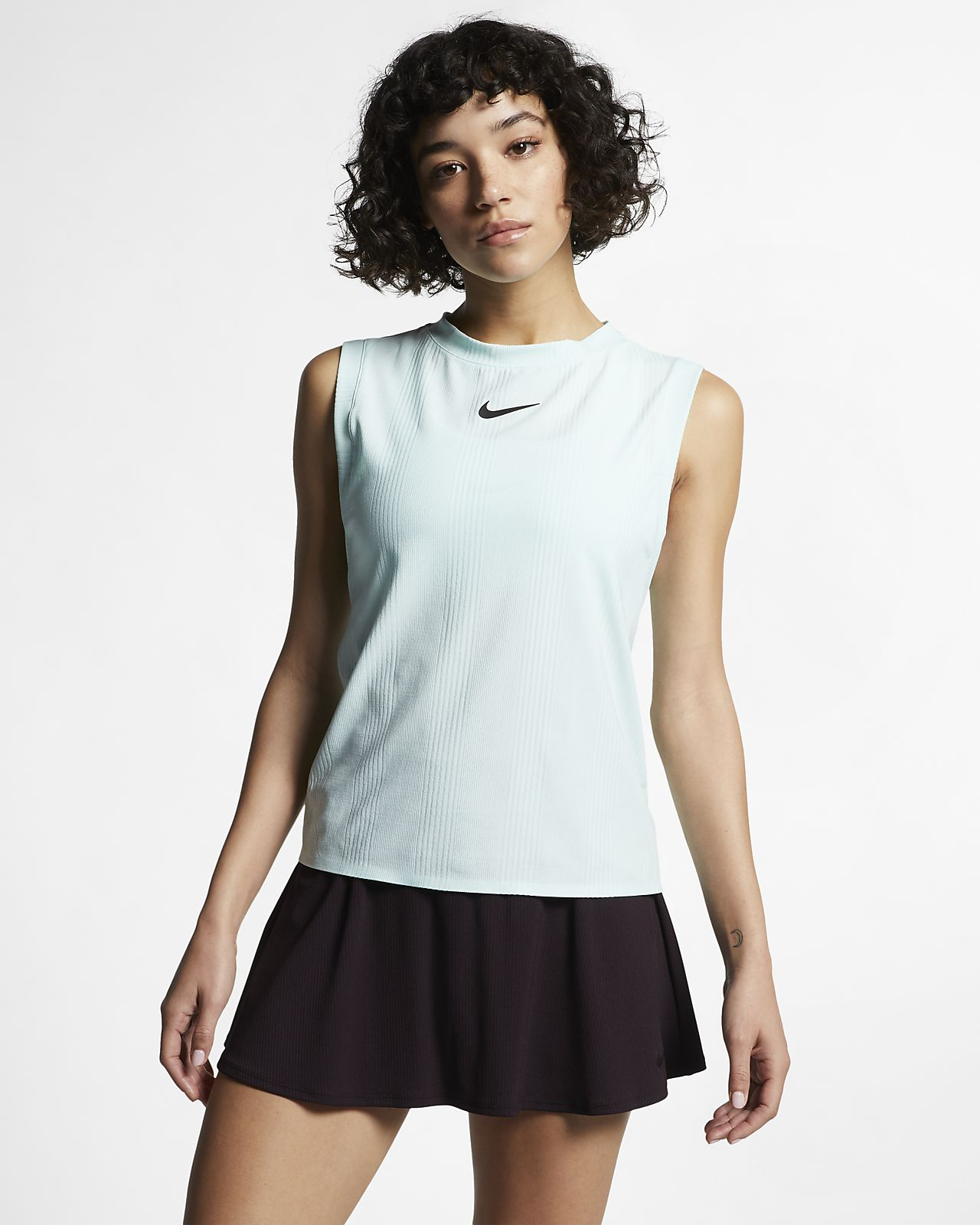 NikeCourt Dri-FIT Maria tennissinglet til dame