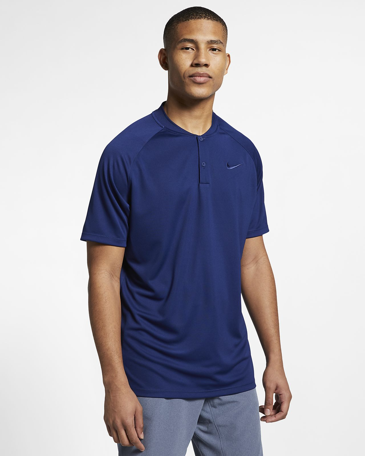 Nike Dri Fit Momentum Mens Standard Fit Golf Polo Nike