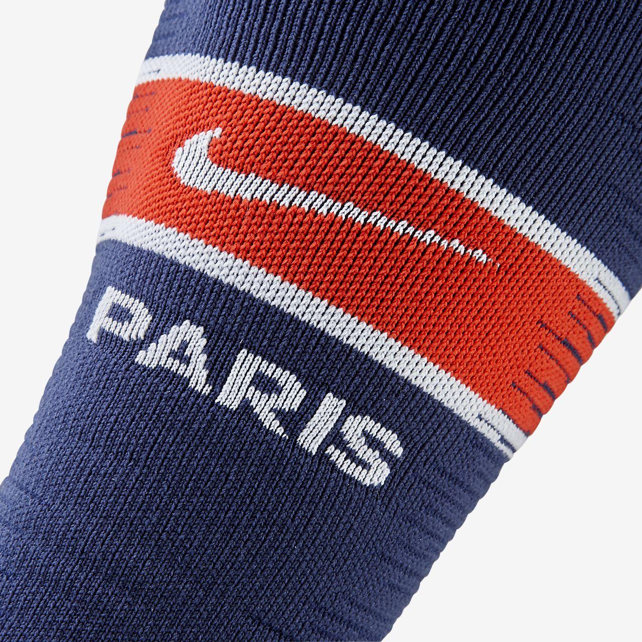 f61133c149c3 2018 19 Paris Saint-Germain Match Home Away OTC Football Socks. Nike ...
