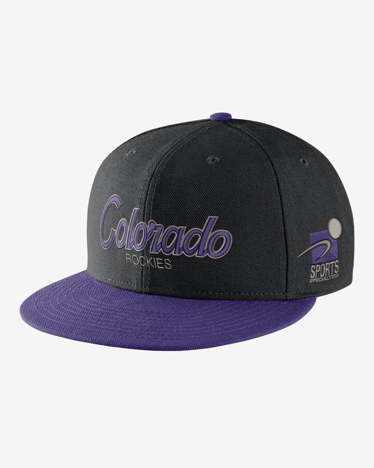 21bc77fc6e7 Nike Pro Sport Specialties (MLB Rockies) Adjustable Hat. Nike.com