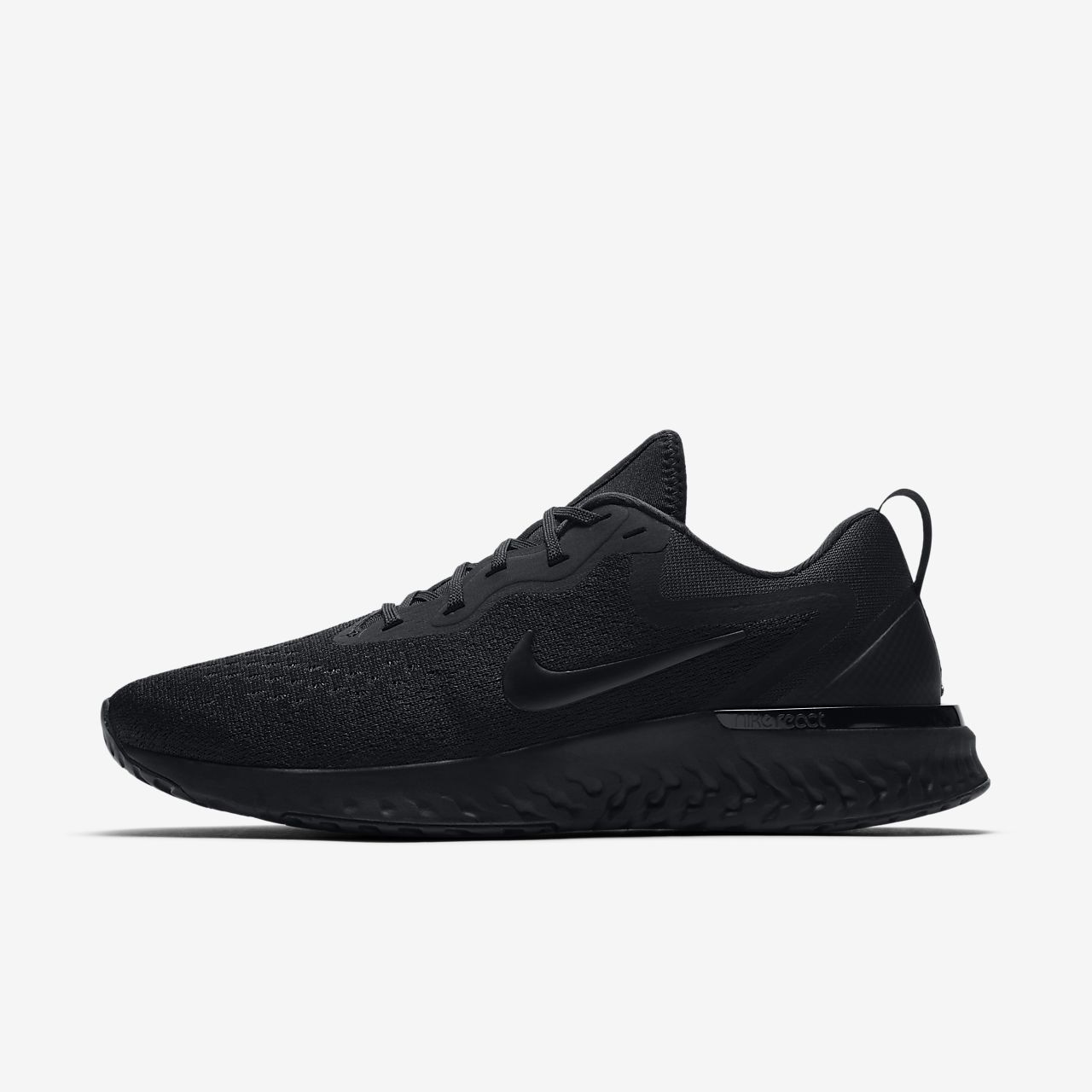 Nike Wmns Odyssey React Triple Black Women Running Shoes Sneakers AO9820010