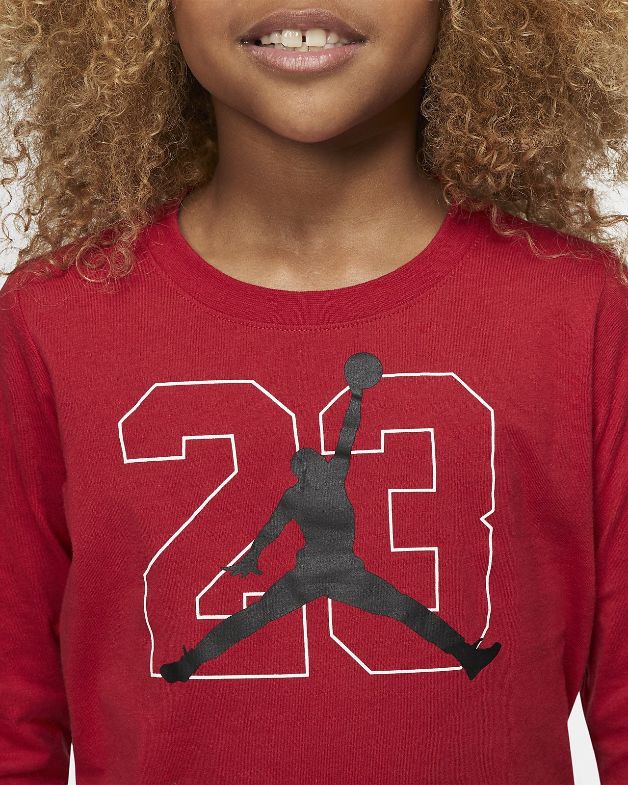 f9398259e06 Jordan Jumpman 23 Little Kids' Long-Sleeve Graphic T-Shirt. Nike.com