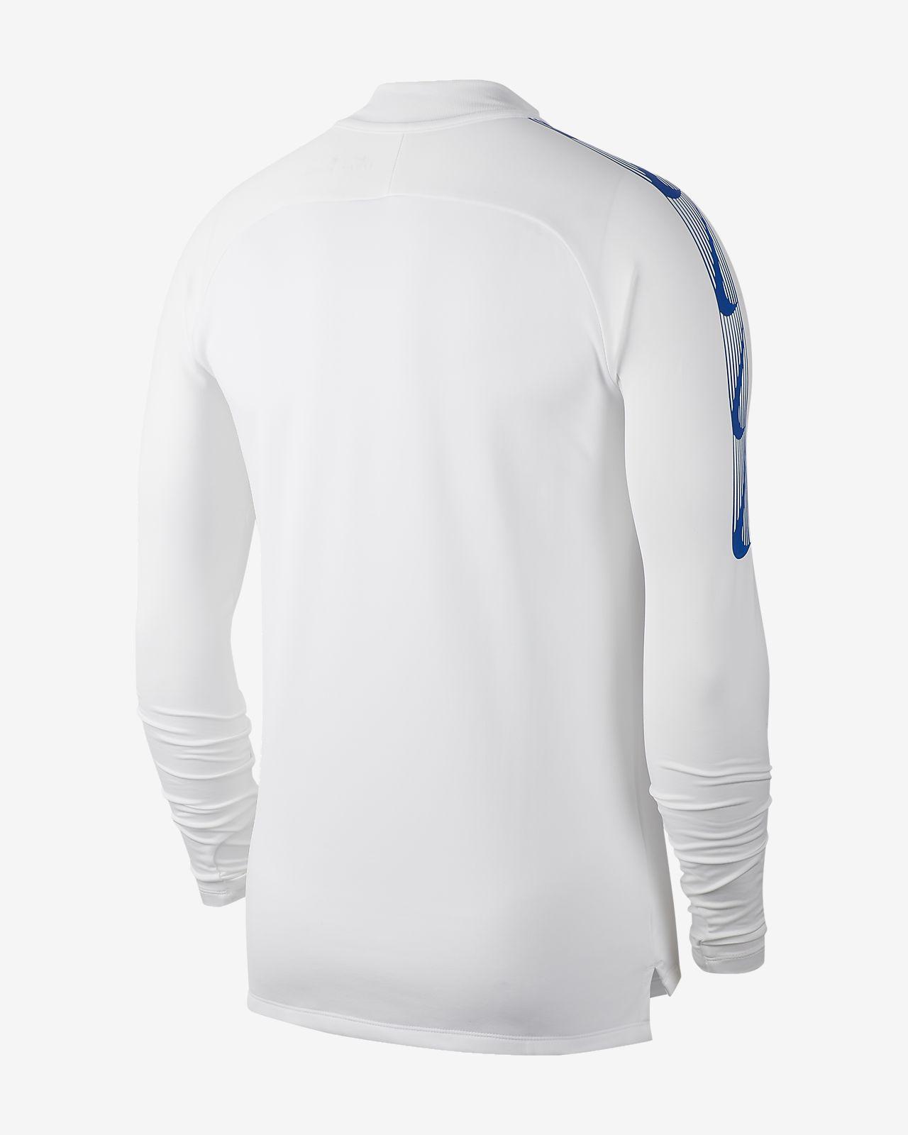 259f9c6fe92855 Chelsea FC Dri-FIT Squad Drill Men's Long-Sleeve Football Top. Nike ...