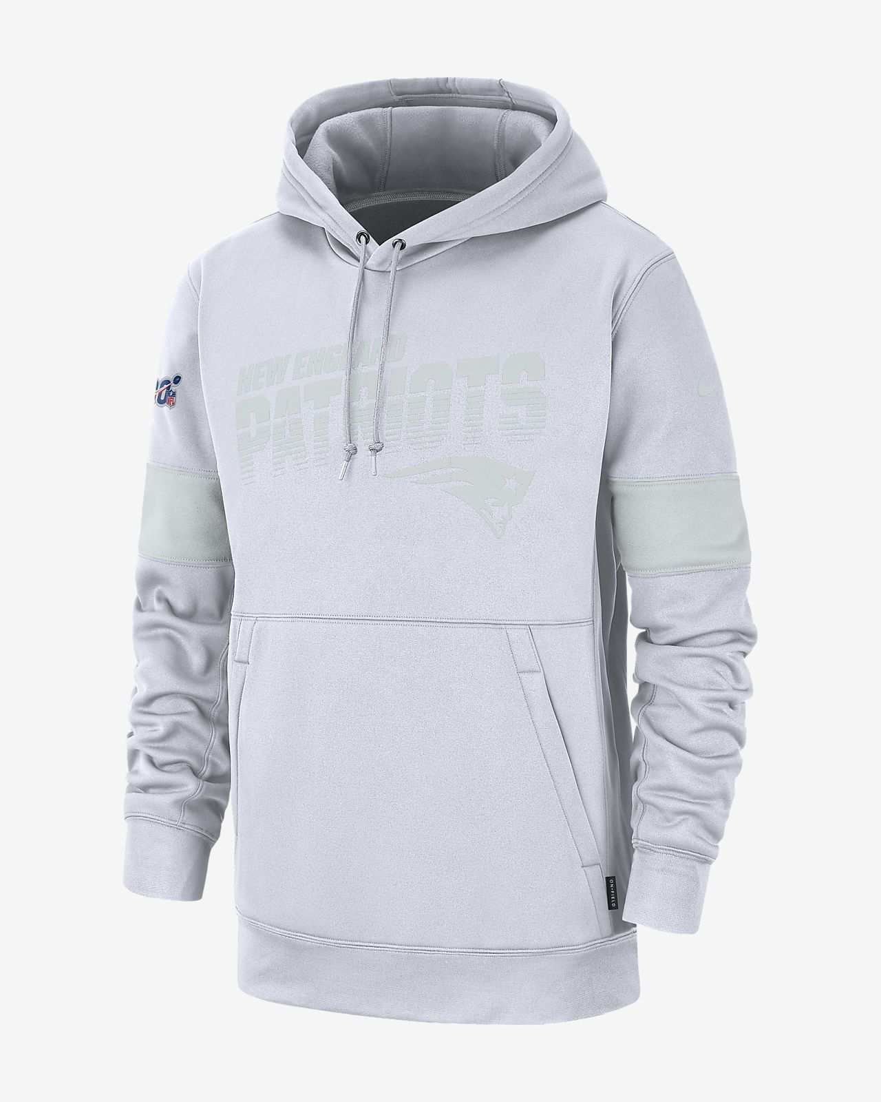 best sneakers 31c56 539e4 Nike Therma (NFL Patriots) Men's Hoodie