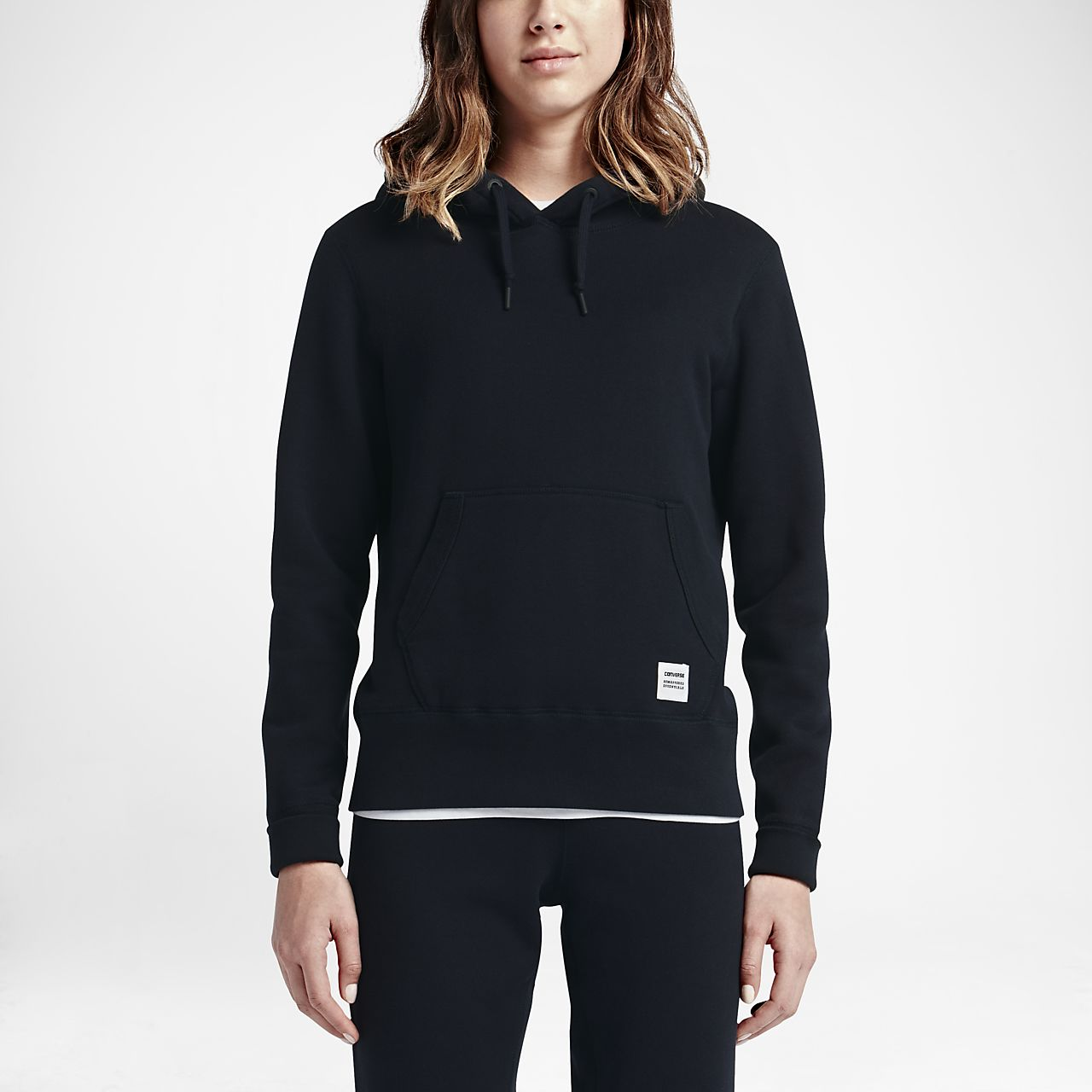 Converse Essentials Sportswear Crew Women's Sweatshirt Black