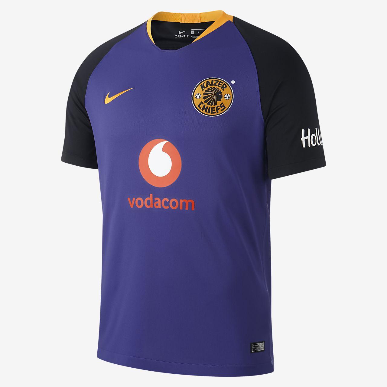 Camiseta de fútbol para hombre 2018/19 Kaizer Chiefs FC Stadium Away