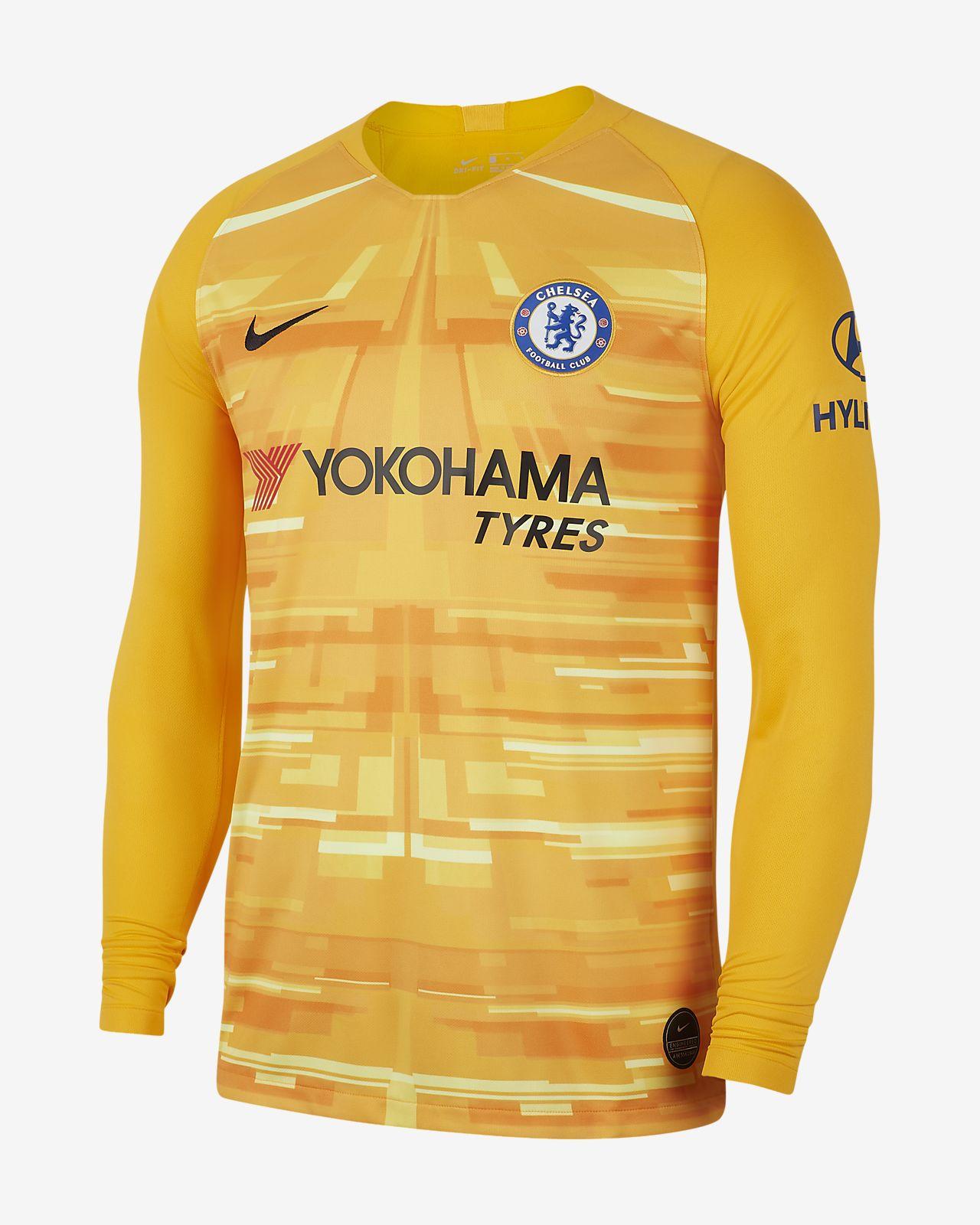 Chelsea FC 2019/20 Stadium Goalkeeper Herren-Fußballtrikot