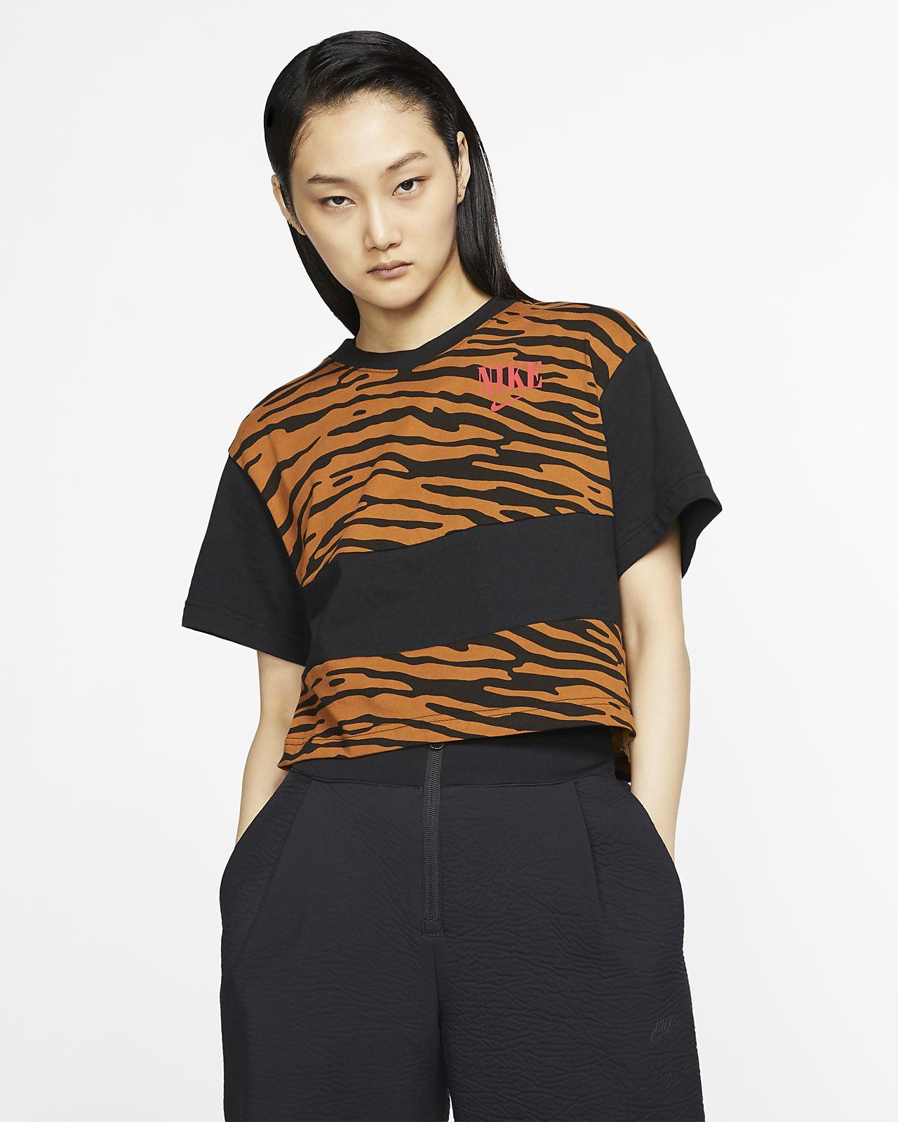Top corto stampato Nike Sportswear Essential - Donna