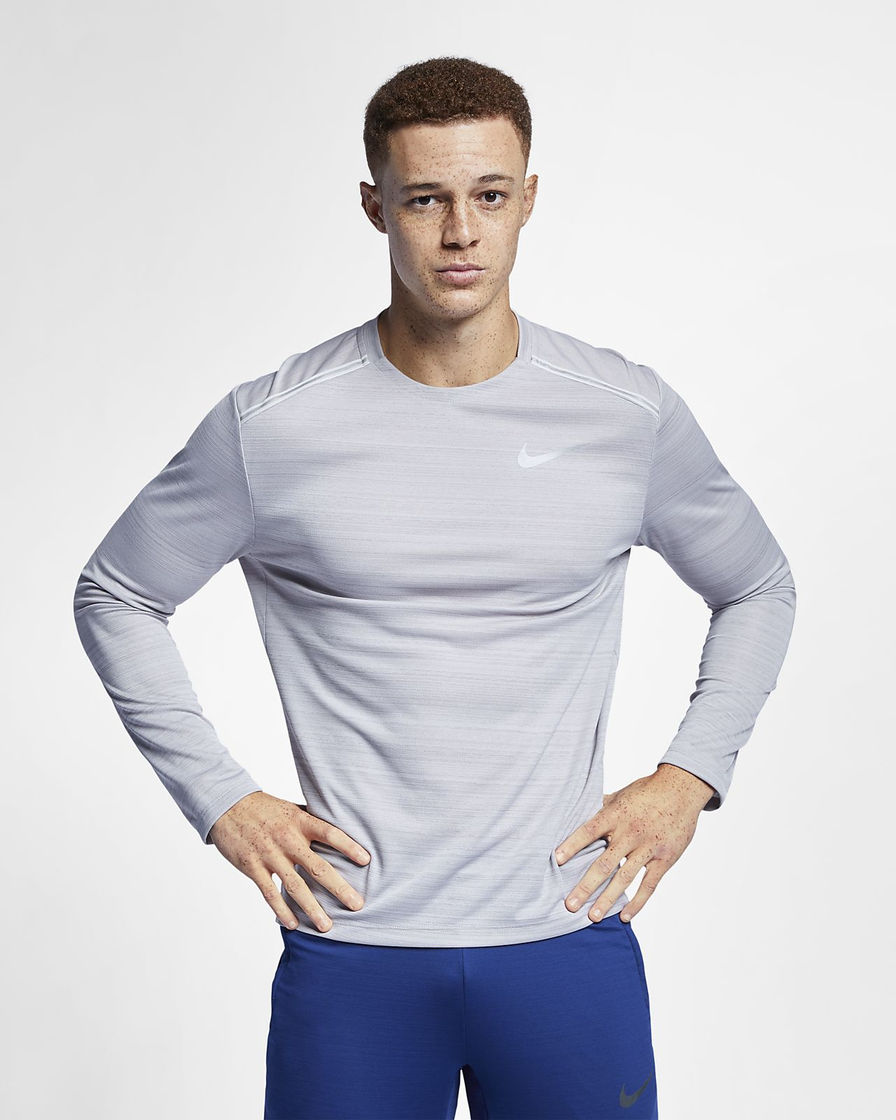 Nike Dri-FIT Miler Men's Long-Sleeve Running Top