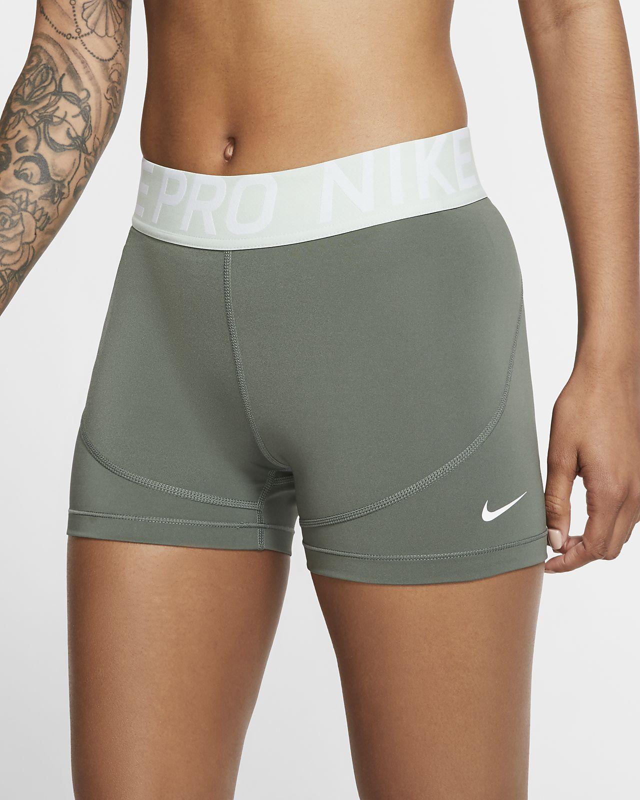 Nike Pro Damen-Trainingsshorts (ca. 7,5 cm)
