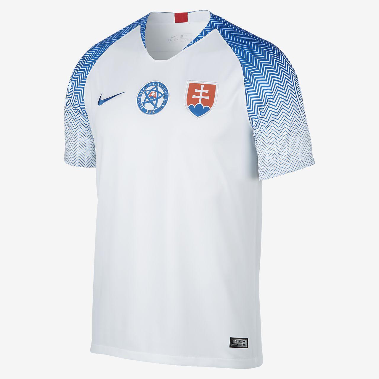 Camiseta de fútbol de local para hombre Stadium de Eslovaquia 2018