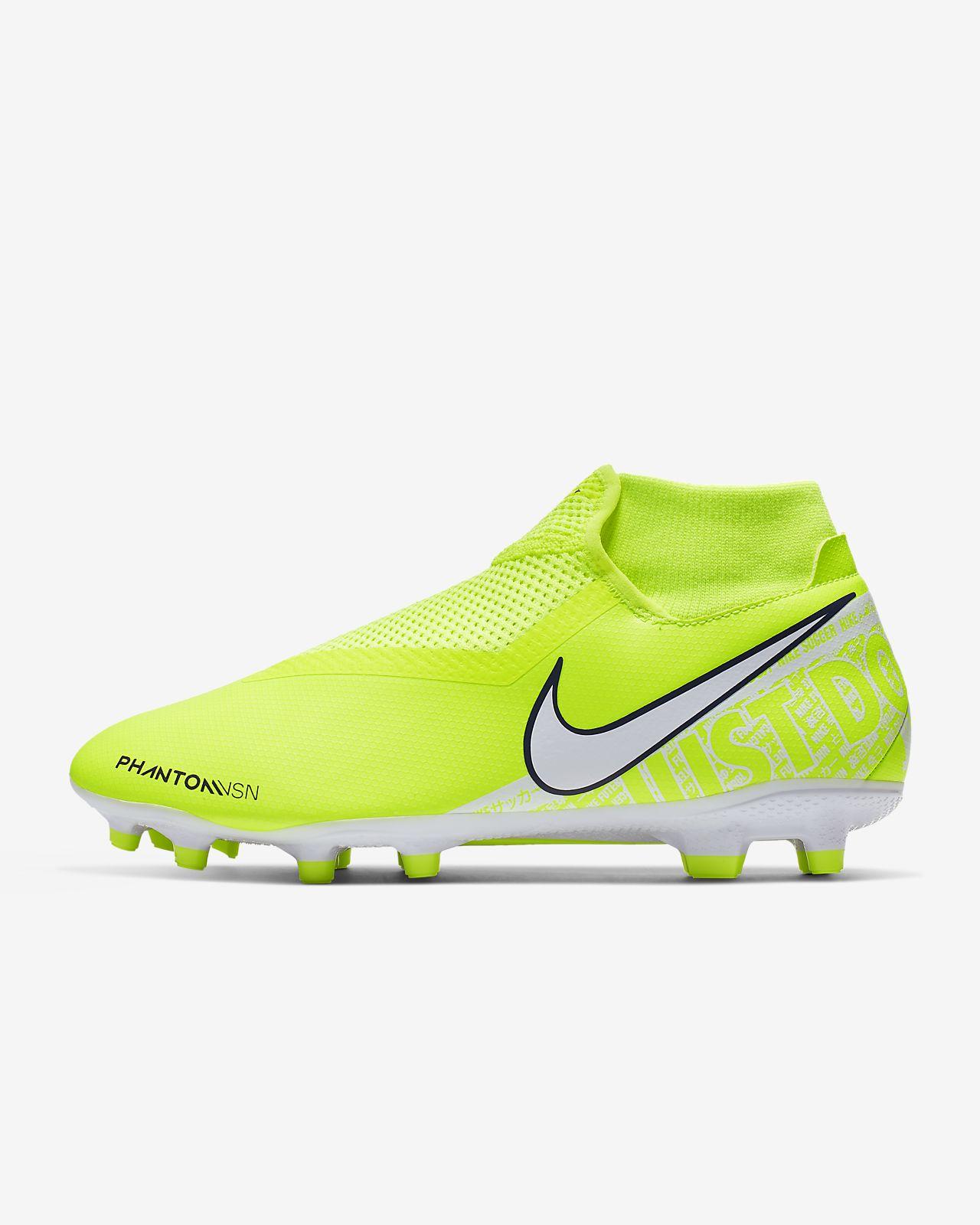 รองเท้าสตั๊ดฟุตบอลสำหรับพื้นหลายประเภท Nike Phantom Vision Academy Dynamic Fit MG