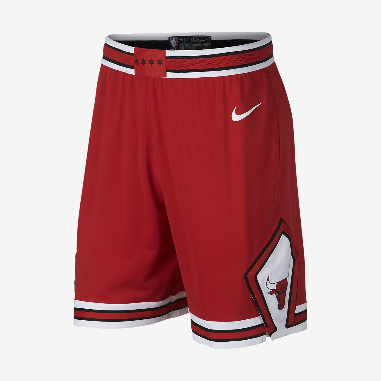 Shorts de NBA para hombre Chicago Bulls Nike Icon Edition Authentic ... ee574051b09
