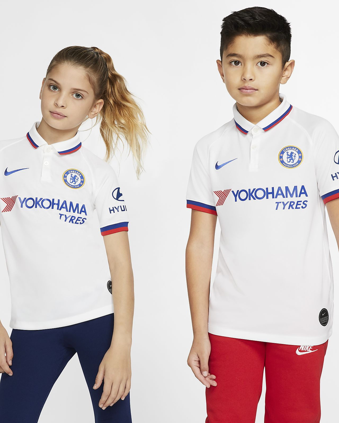 Chelsea FC 2019/20 Stadium Away Older Kids' Football Shirt