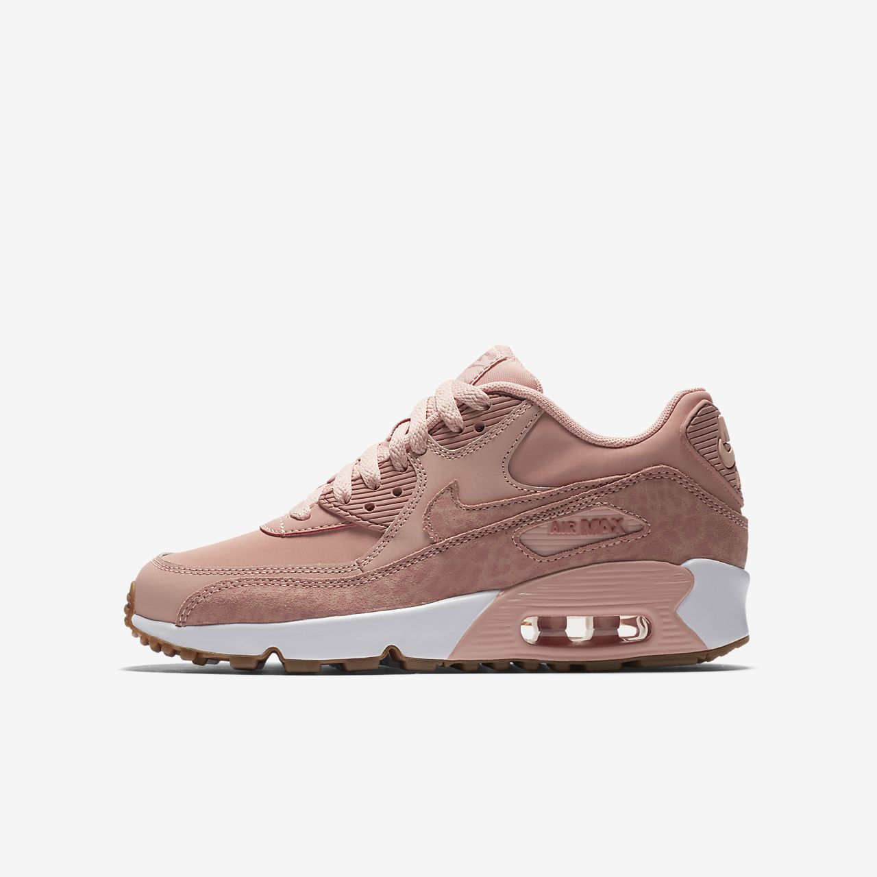 ... Nike Air Max 90 SE Leather Older Kids' Shoe